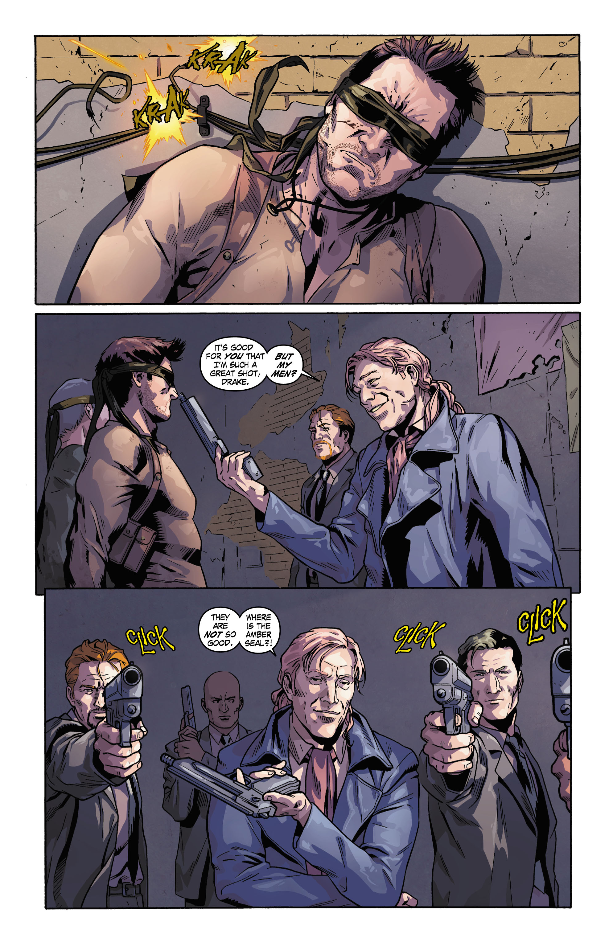 Read online Uncharted comic -  Issue #3 - 4