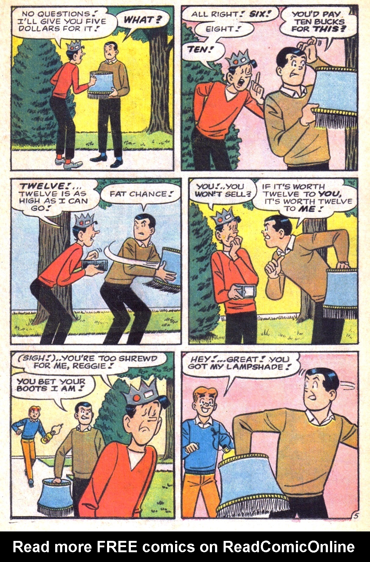 Read online Archie (1960) comic -  Issue #169 - 17