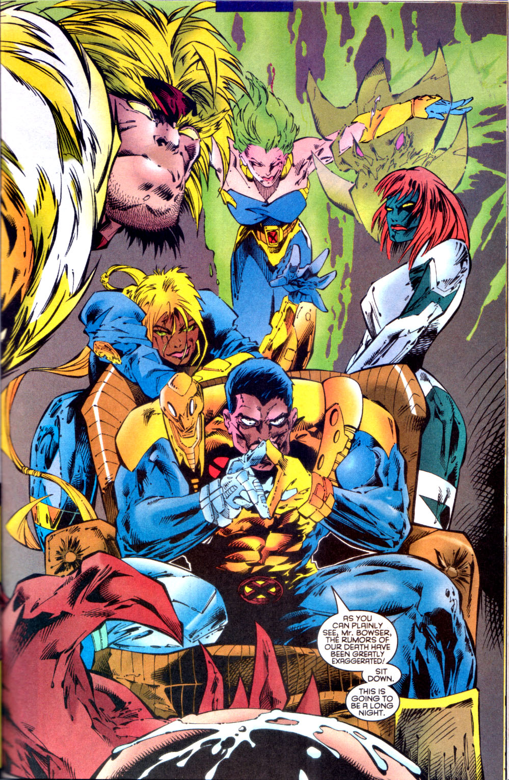 Read online X-Factor (1986) comic -  Issue #134 - 14