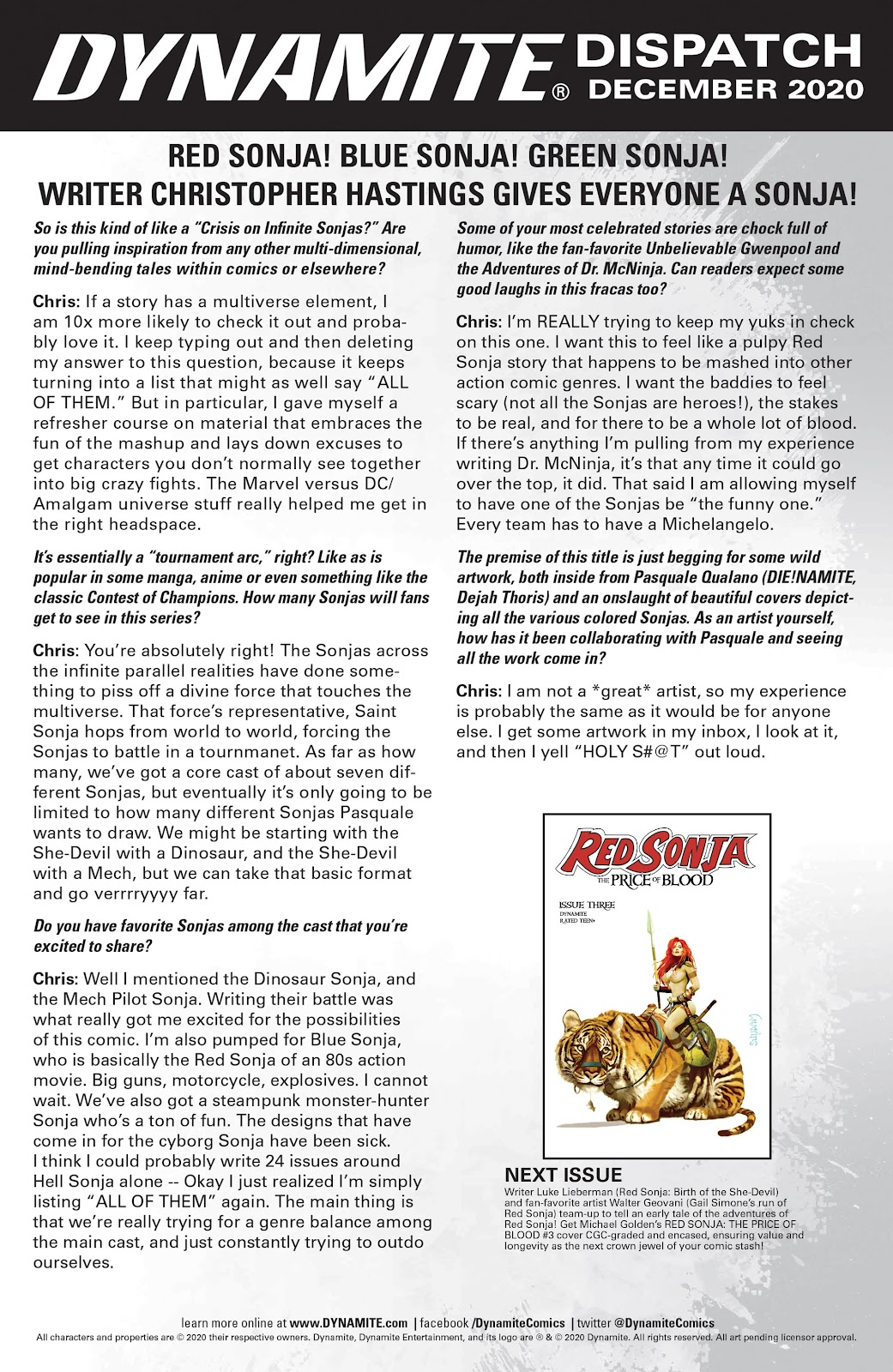 Red Sonja: The Price of Blood issue 2 - Page 29