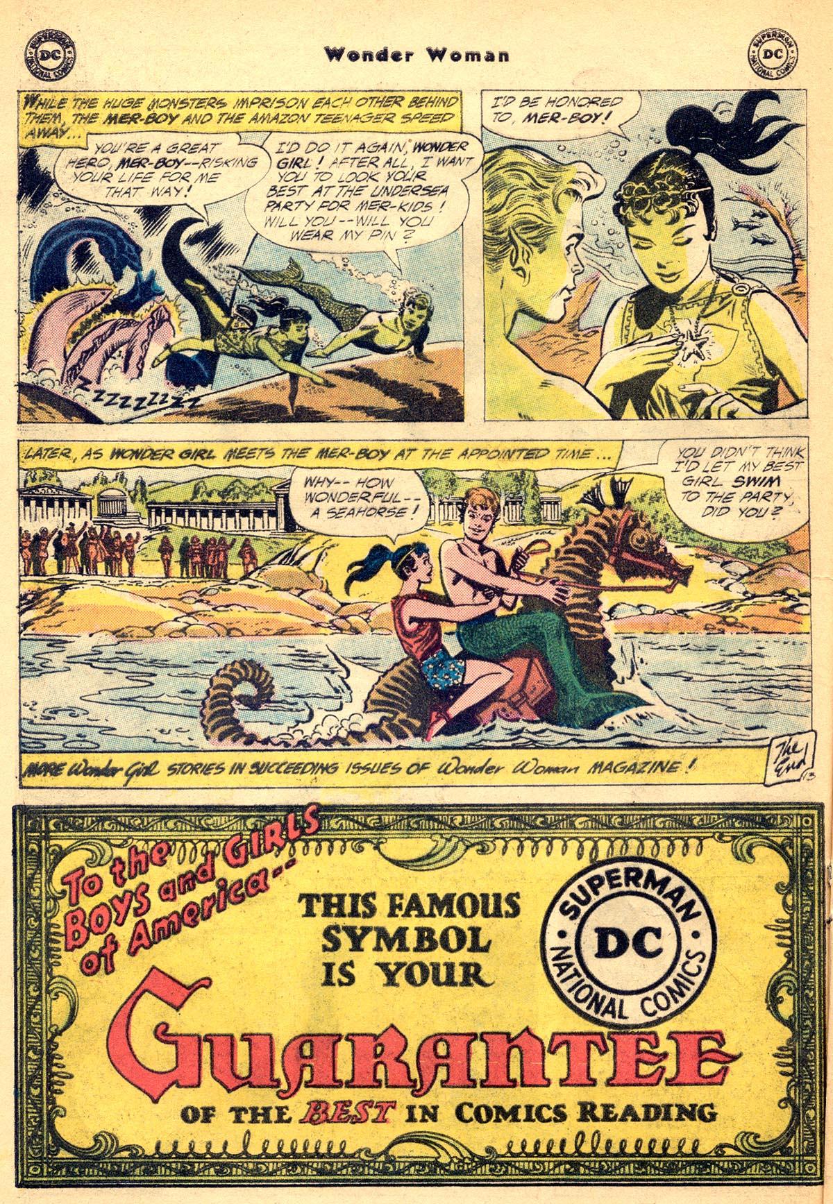 Read online Wonder Woman (1942) comic -  Issue #115 - 32