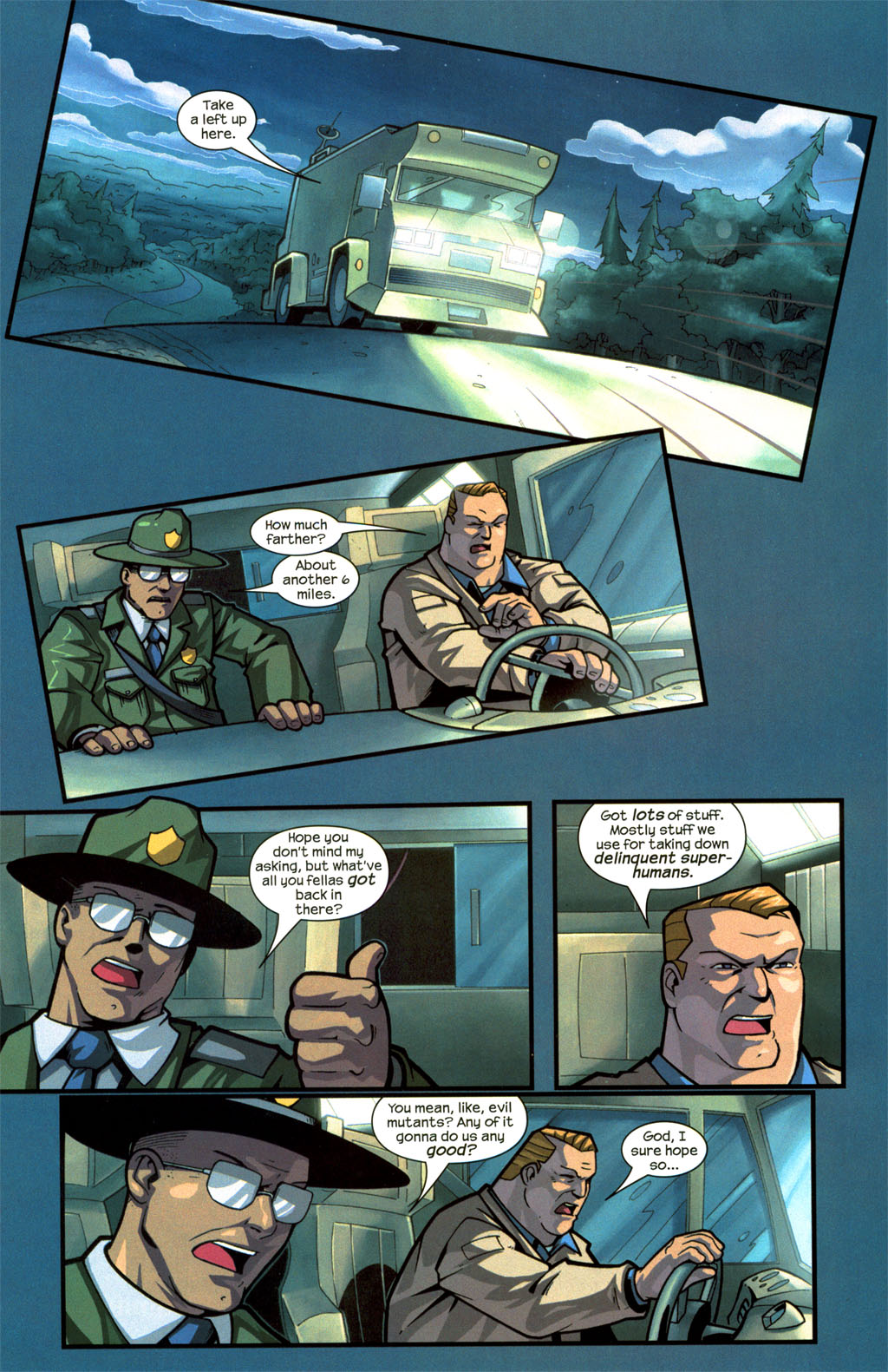 Read online Sentinel comic -  Issue #8 - 11