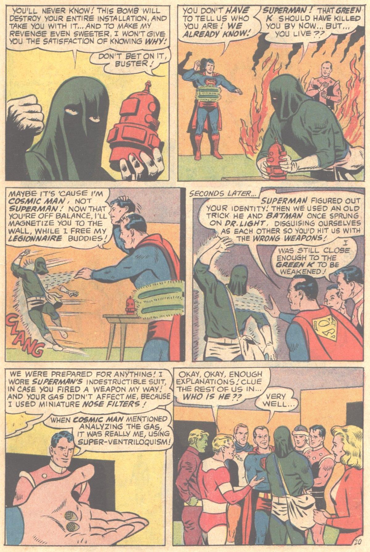 Read online Adventure Comics (1938) comic -  Issue #354 - 27