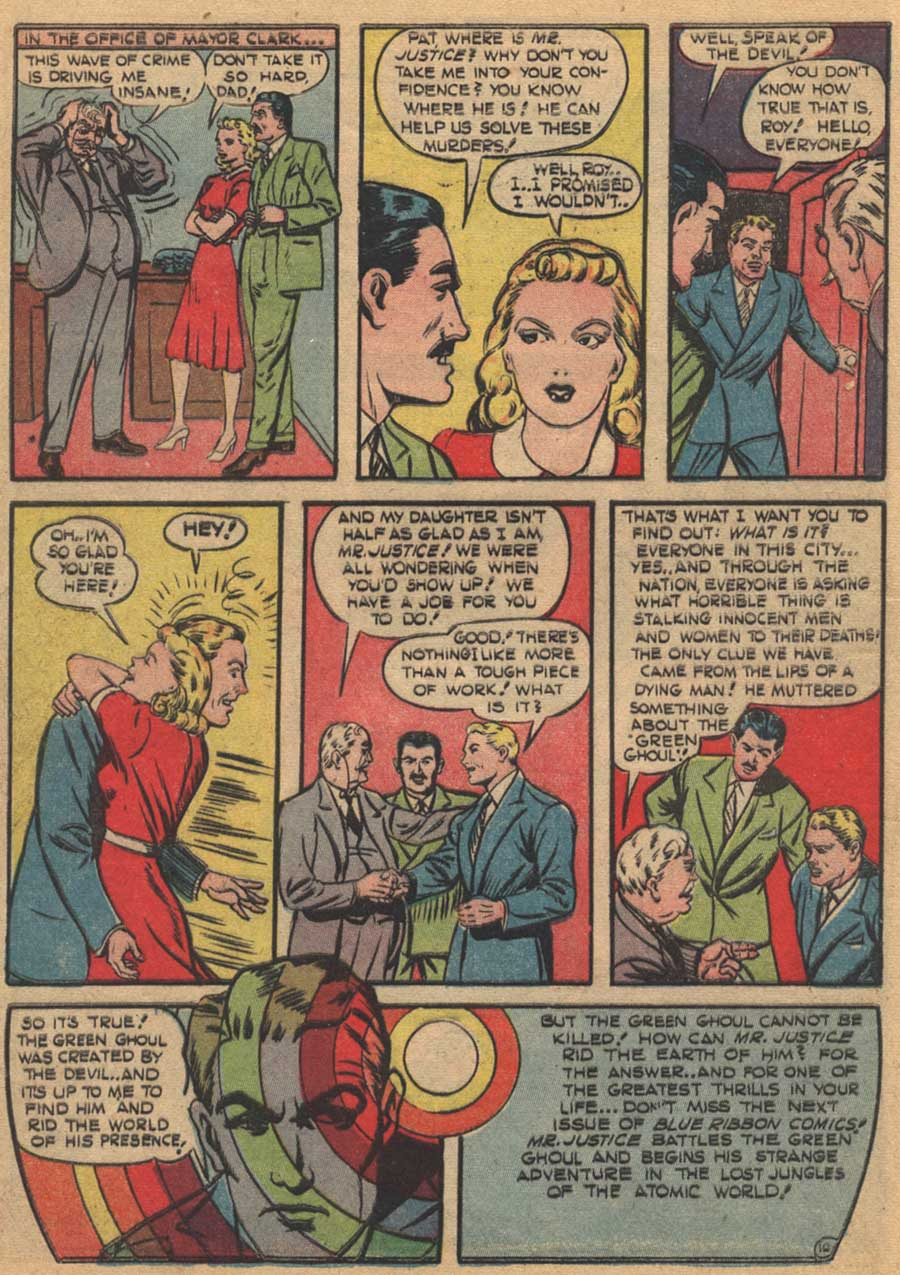 Blue Ribbon Comics (1939) issue 16 - Page 12