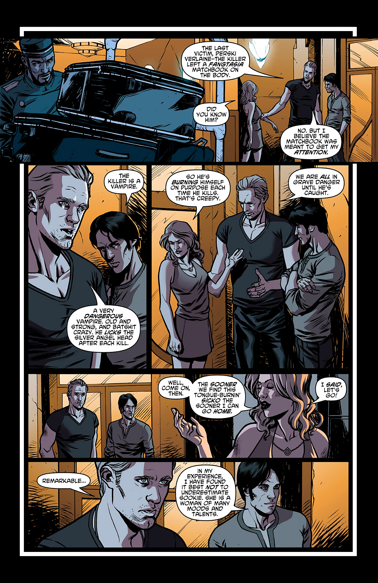 Read online True Blood: French Quarter comic -  Issue #1 - 12