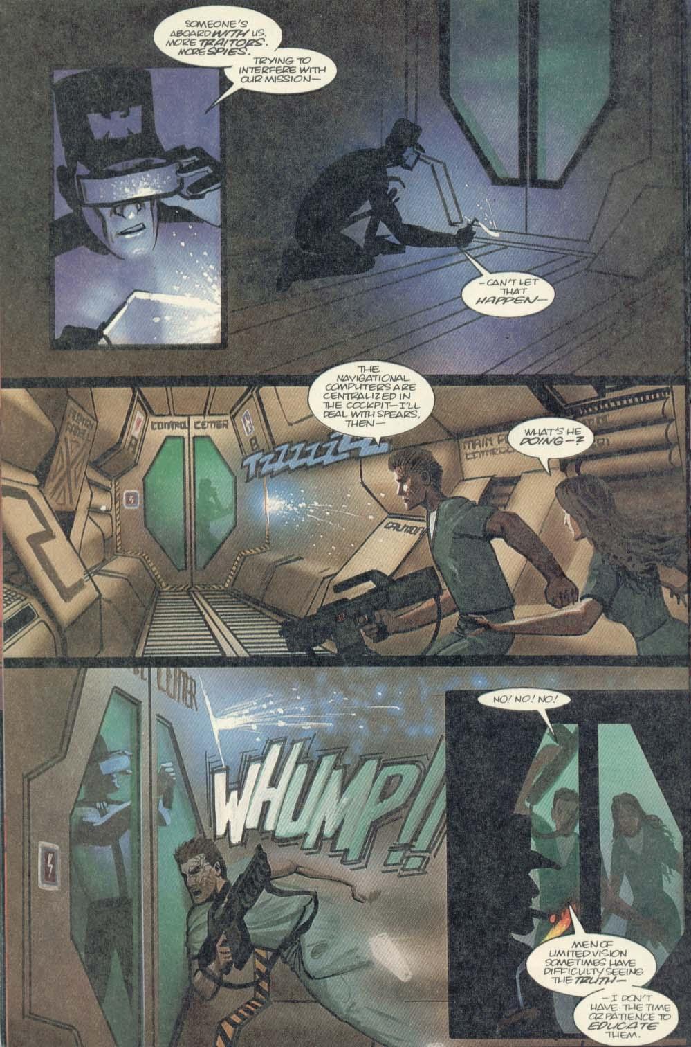 Read online Aliens (1989) comic -  Issue #4 - 14