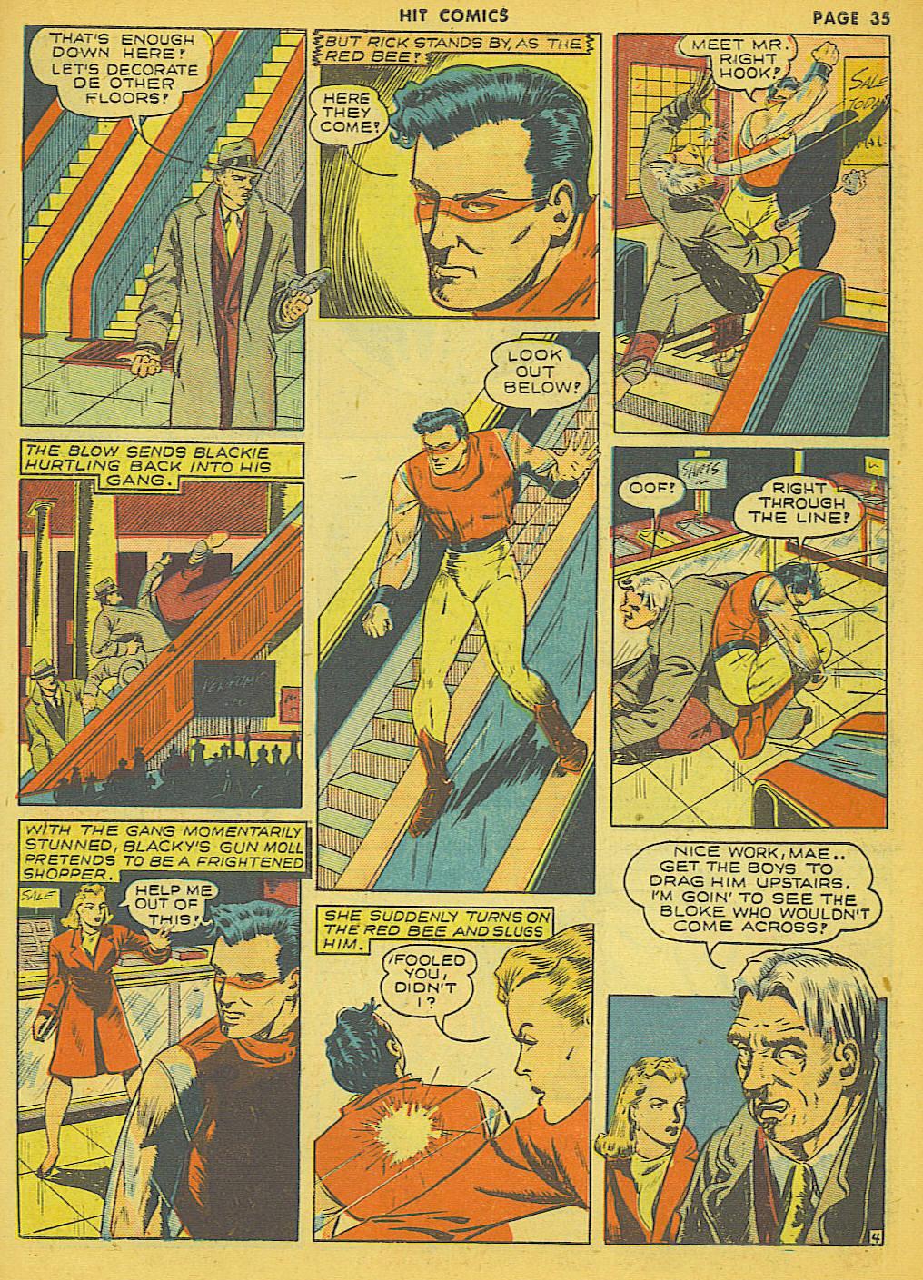 Read online Hit Comics comic -  Issue #21 - 37