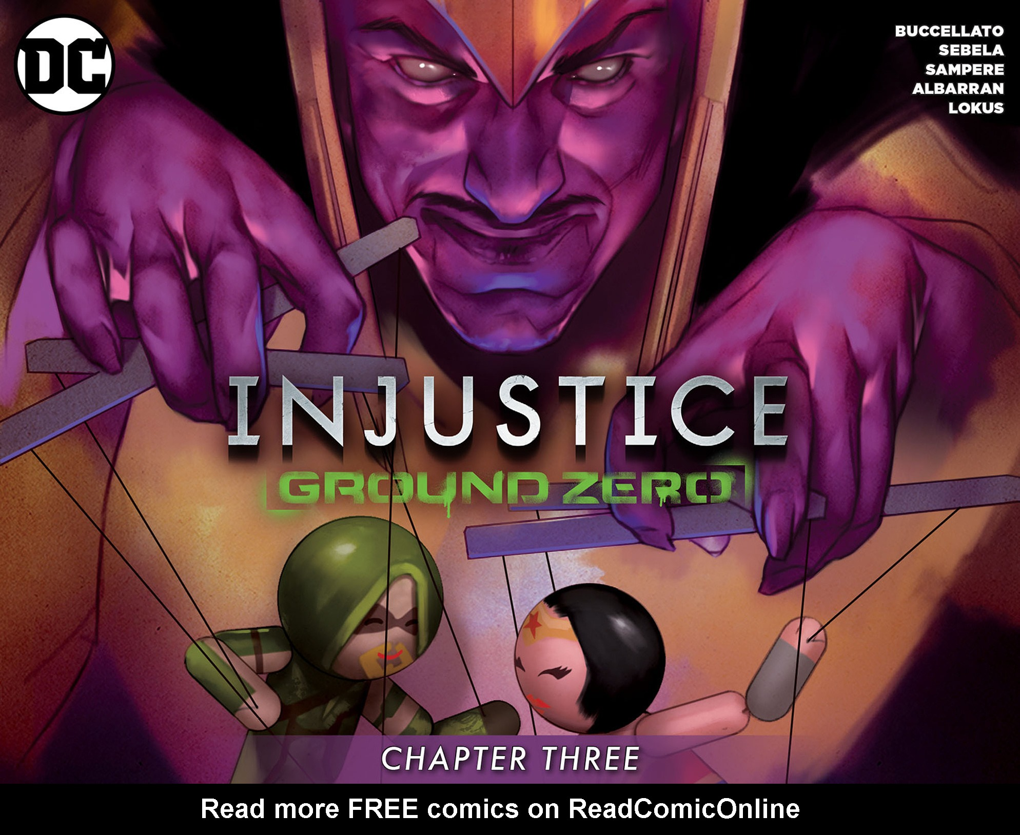Read online Injustice: Ground Zero comic -  Issue #3 - 1