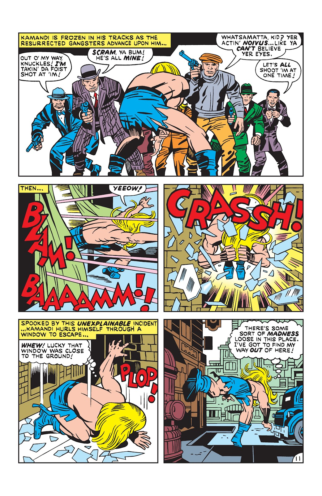 Kamandi, The Last Boy On Earth issue 19 - Page 11