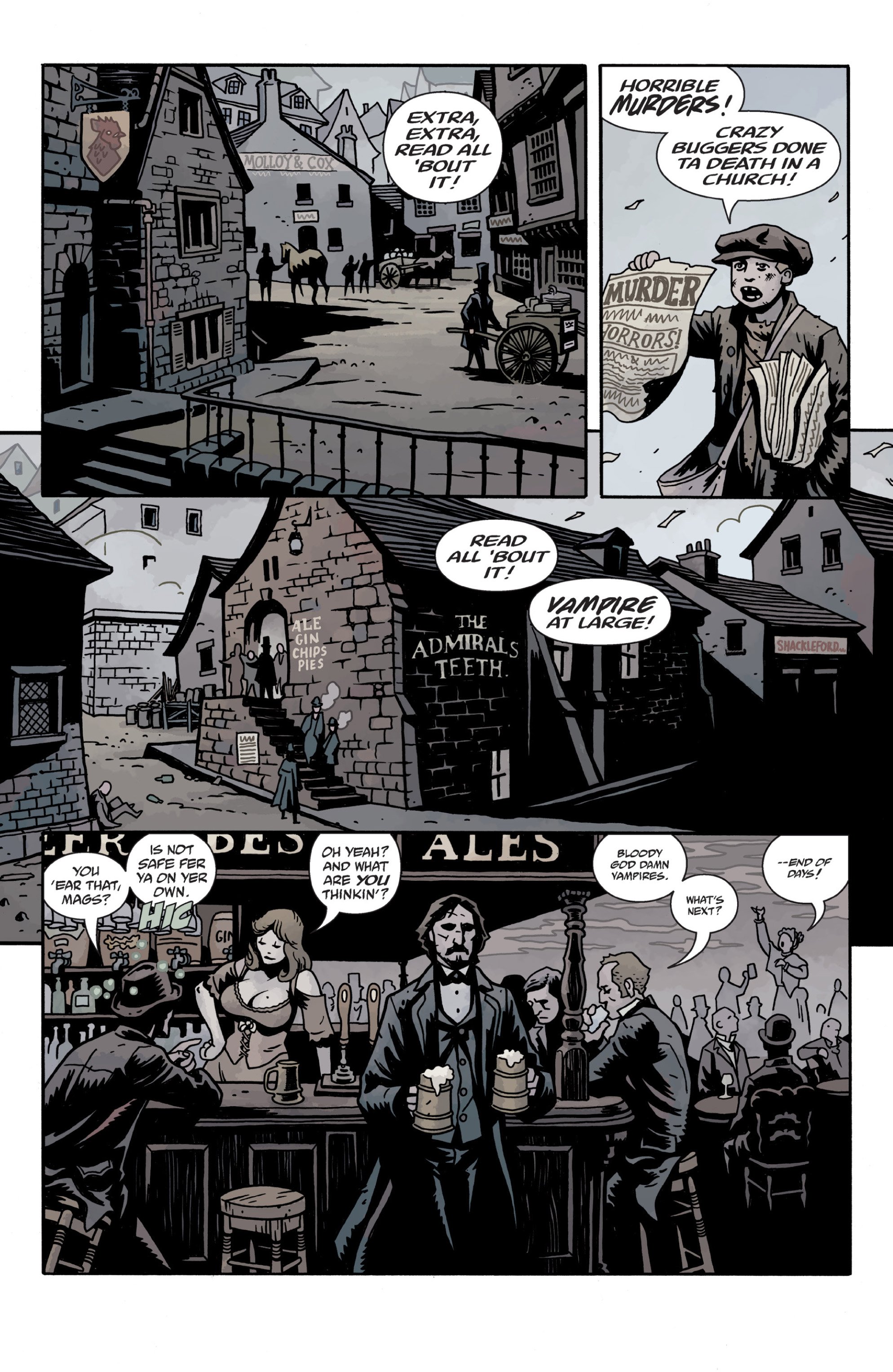 Read online Sir Edward Grey, Witchfinder: In the Service of Angels comic -  Issue # TPB - 90