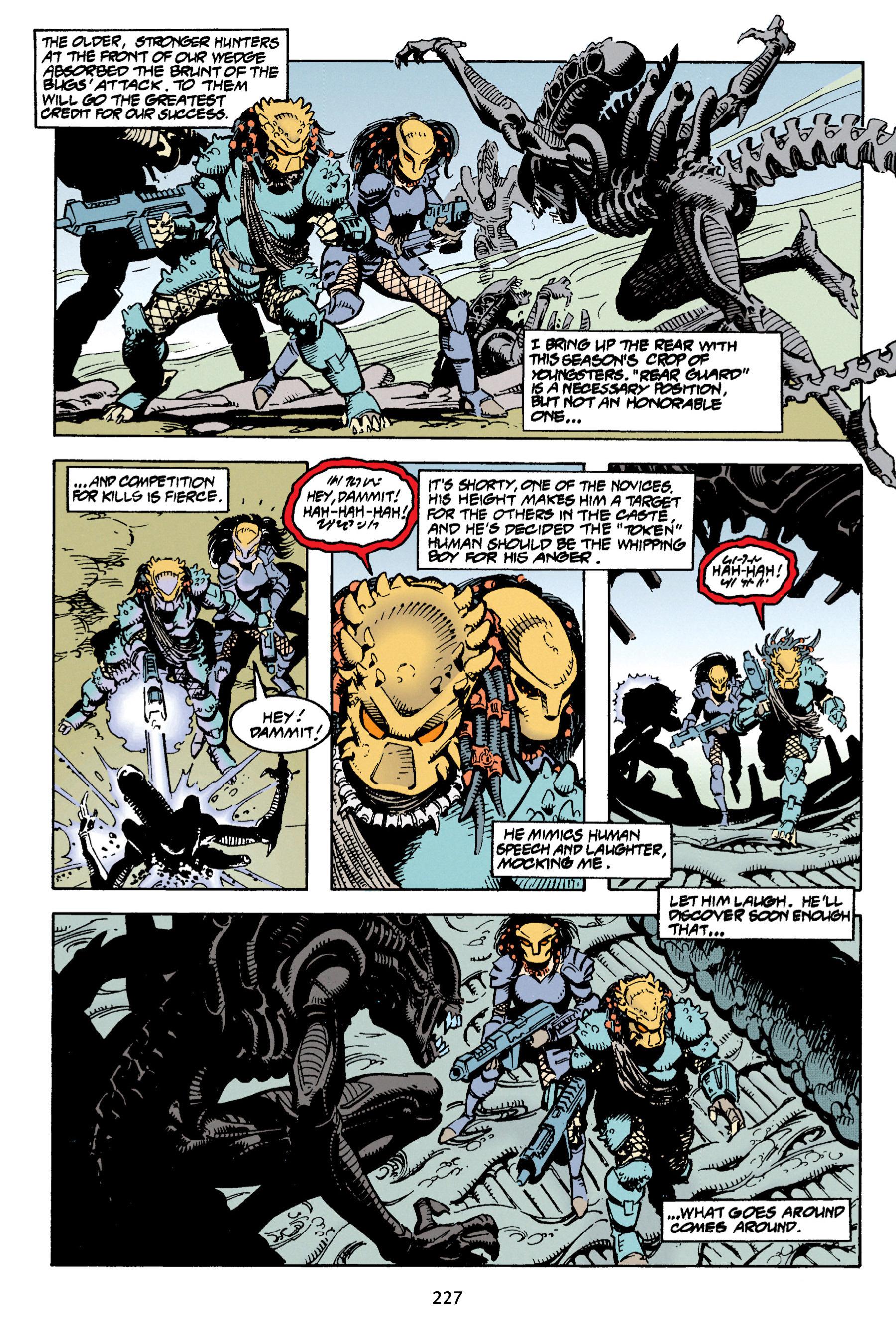 Read online Aliens vs. Predator Omnibus comic -  Issue # _TPB 1 Part 3 - 20