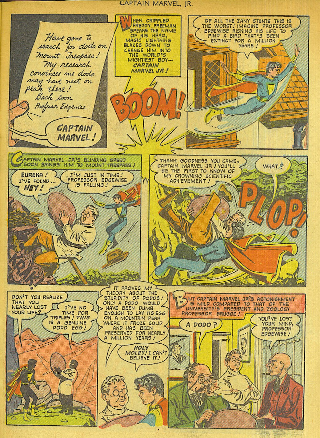 Captain Marvel, Jr. issue 96 - Page 37