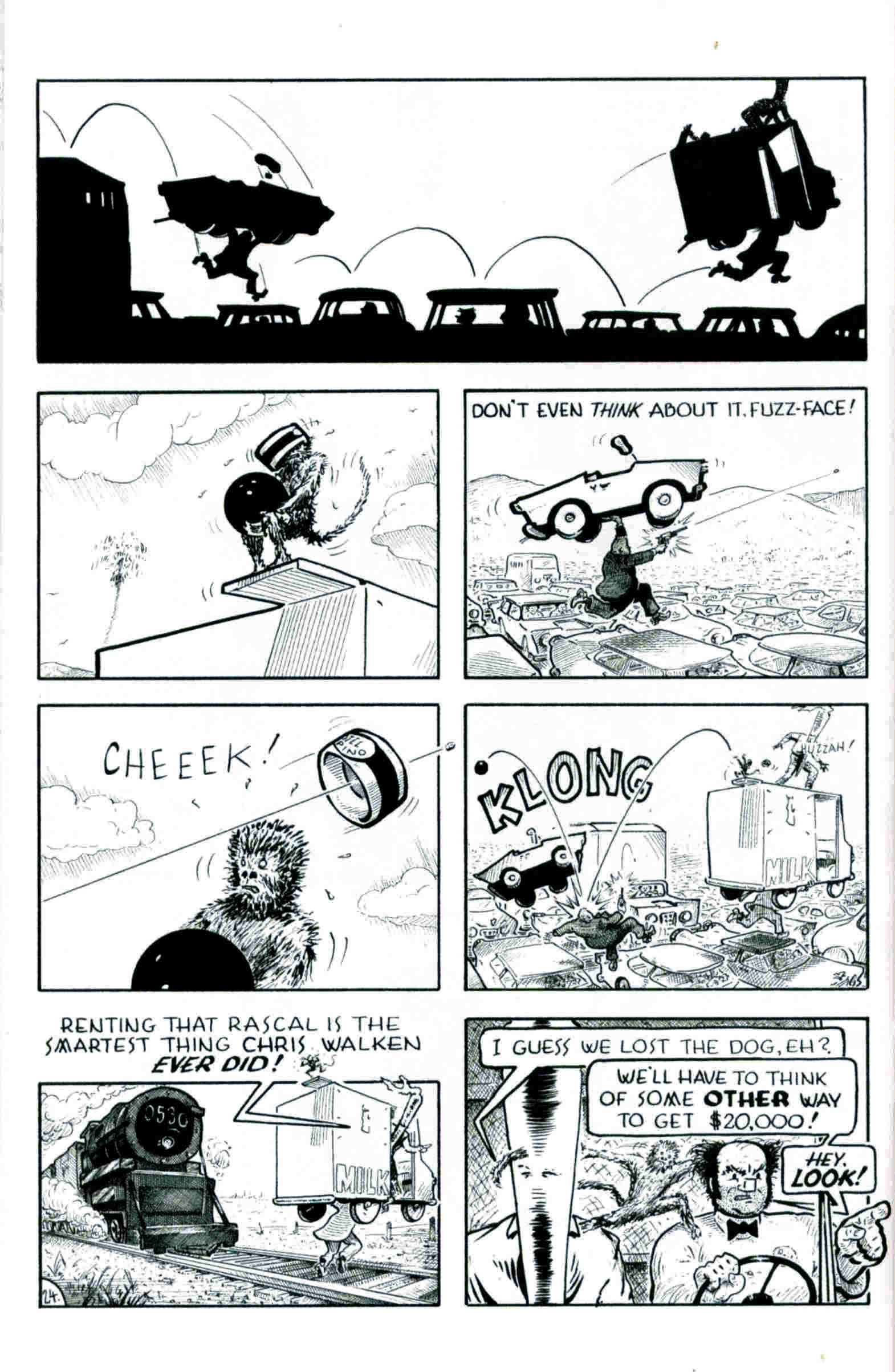Read online Flaming Carrot & Reid Fleming, World's Toughest Milkman comic -  Issue # Full - 24