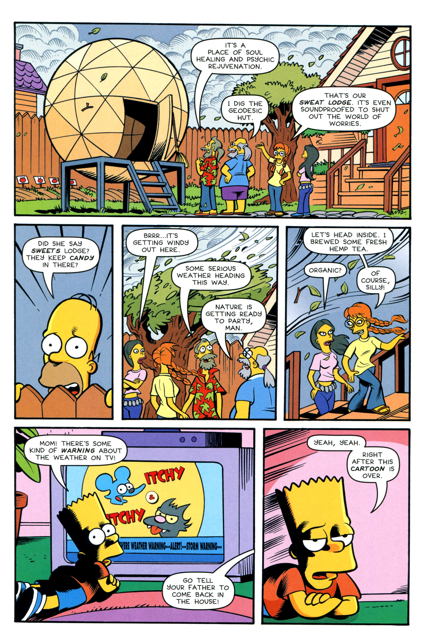 Read online Simpsons Comics comic -  Issue #195 - 6