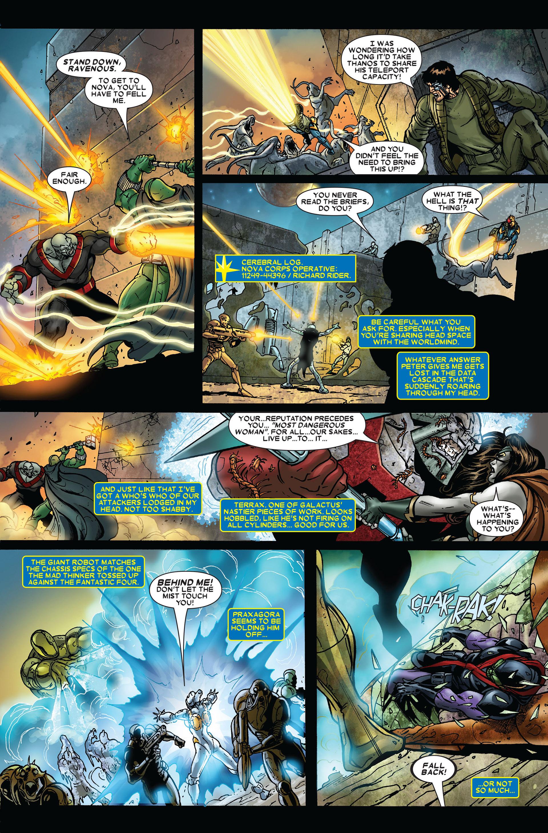 Read online Annihilation comic -  Issue #2 - 21