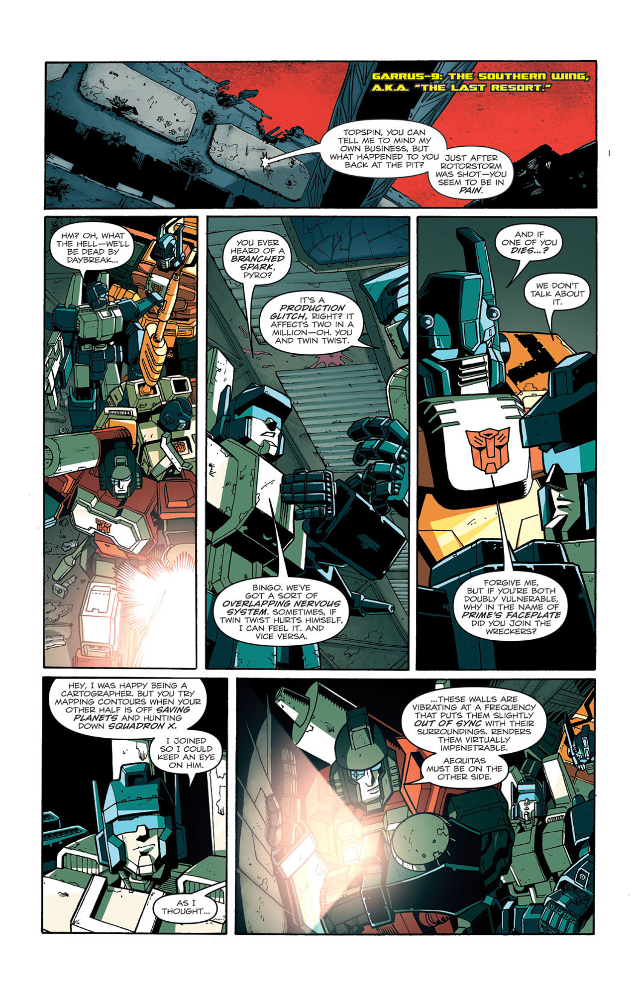 Read online Transformers: Last Stand of The Wreckers comic -  Issue #3 - 22