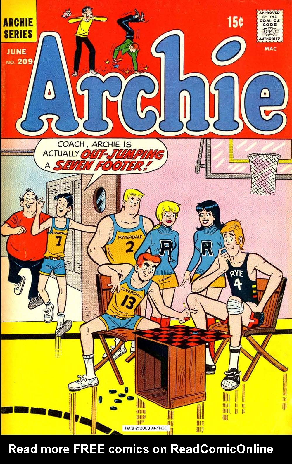 Read online Archie (1960) comic -  Issue #209 - 1