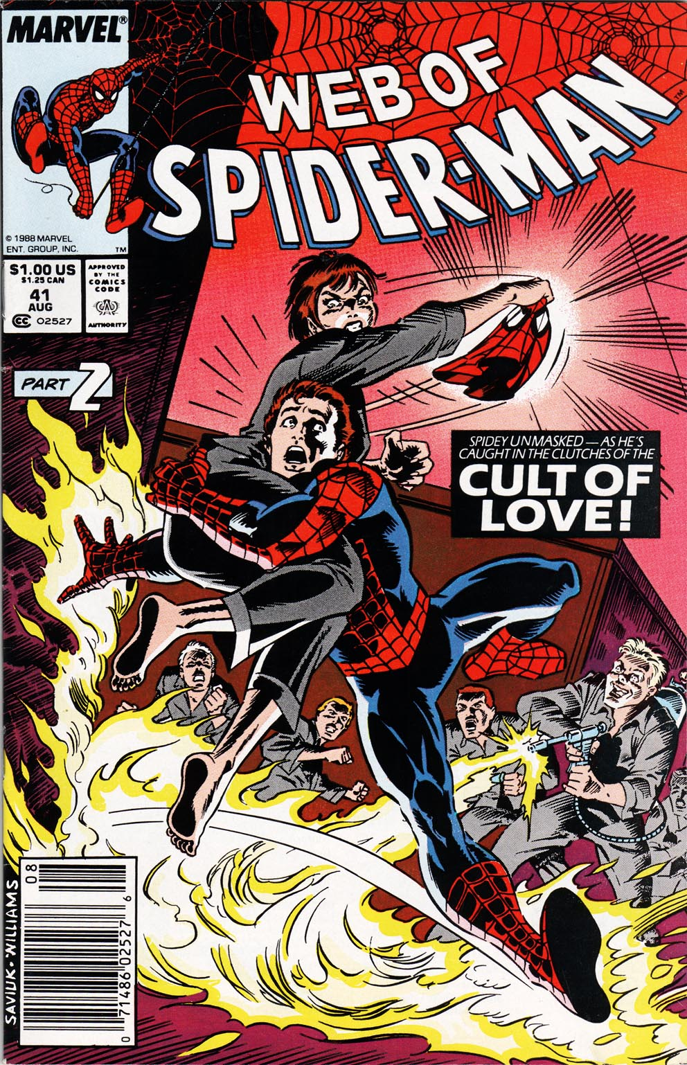 Web of Spider-Man (1985) 41 Page 1