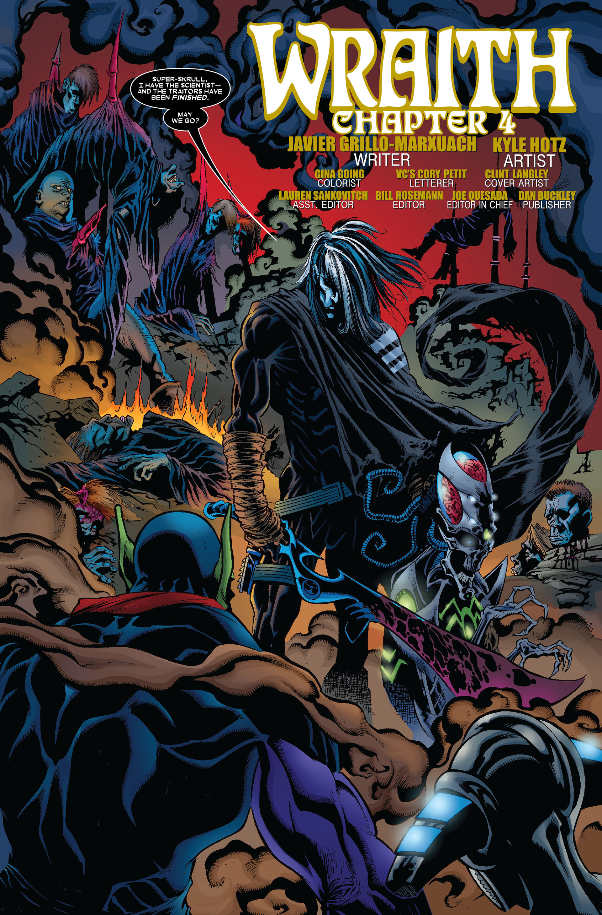 Read online Annihilation: Conquest - Wraith comic -  Issue #4 - 4