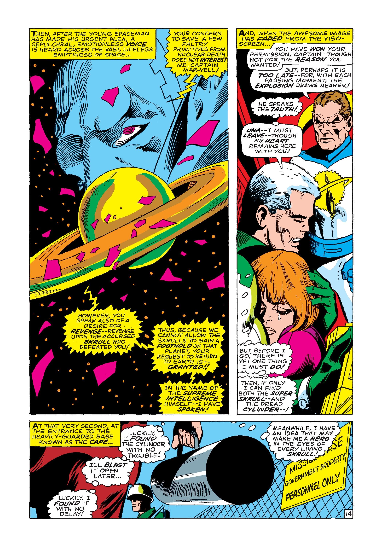 Marvel Masterworks: Captain Marvel TPB_1_(Part_2) Page 1