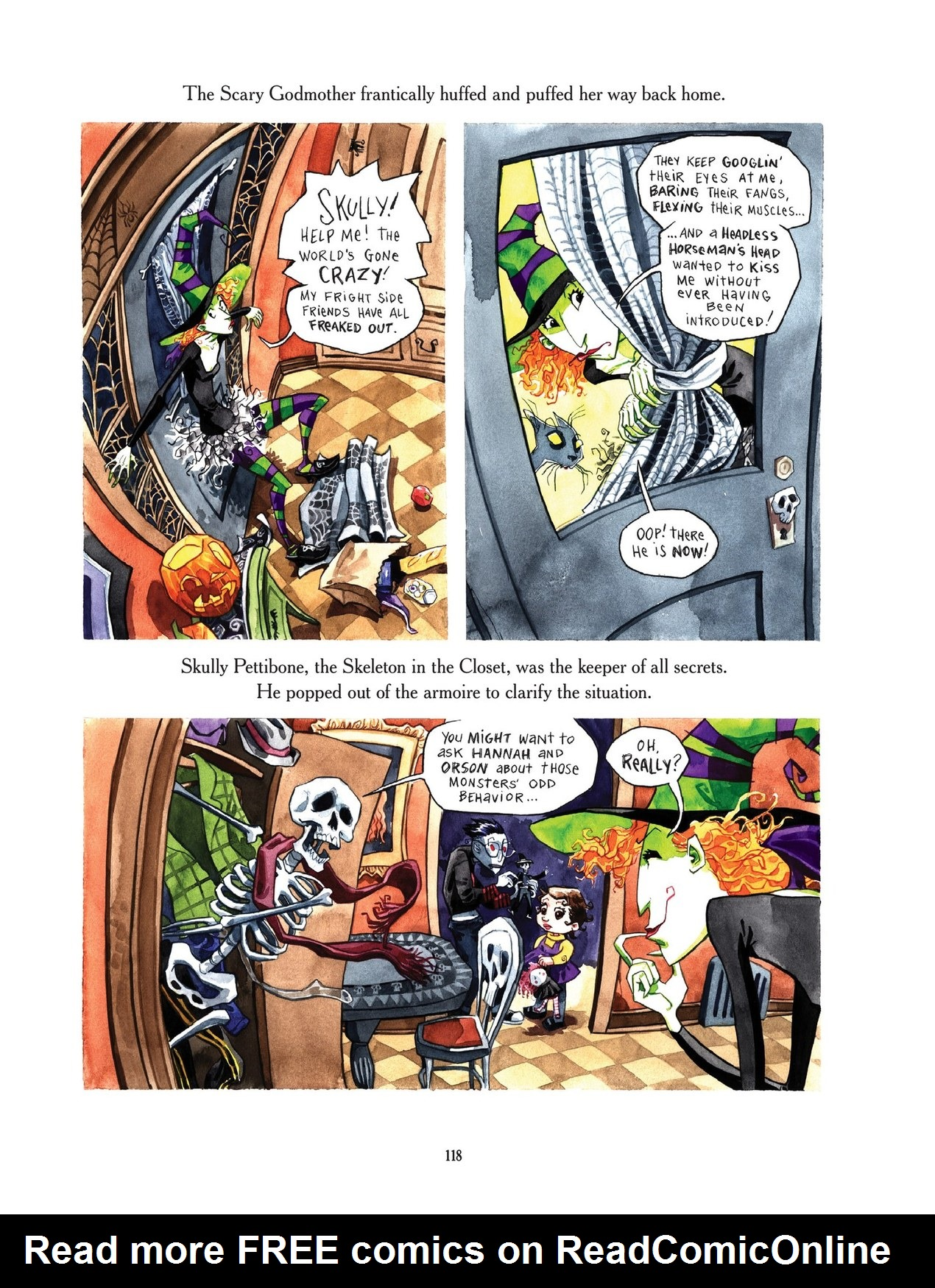 Read online Scary Godmother comic -  Issue # TPB - 118