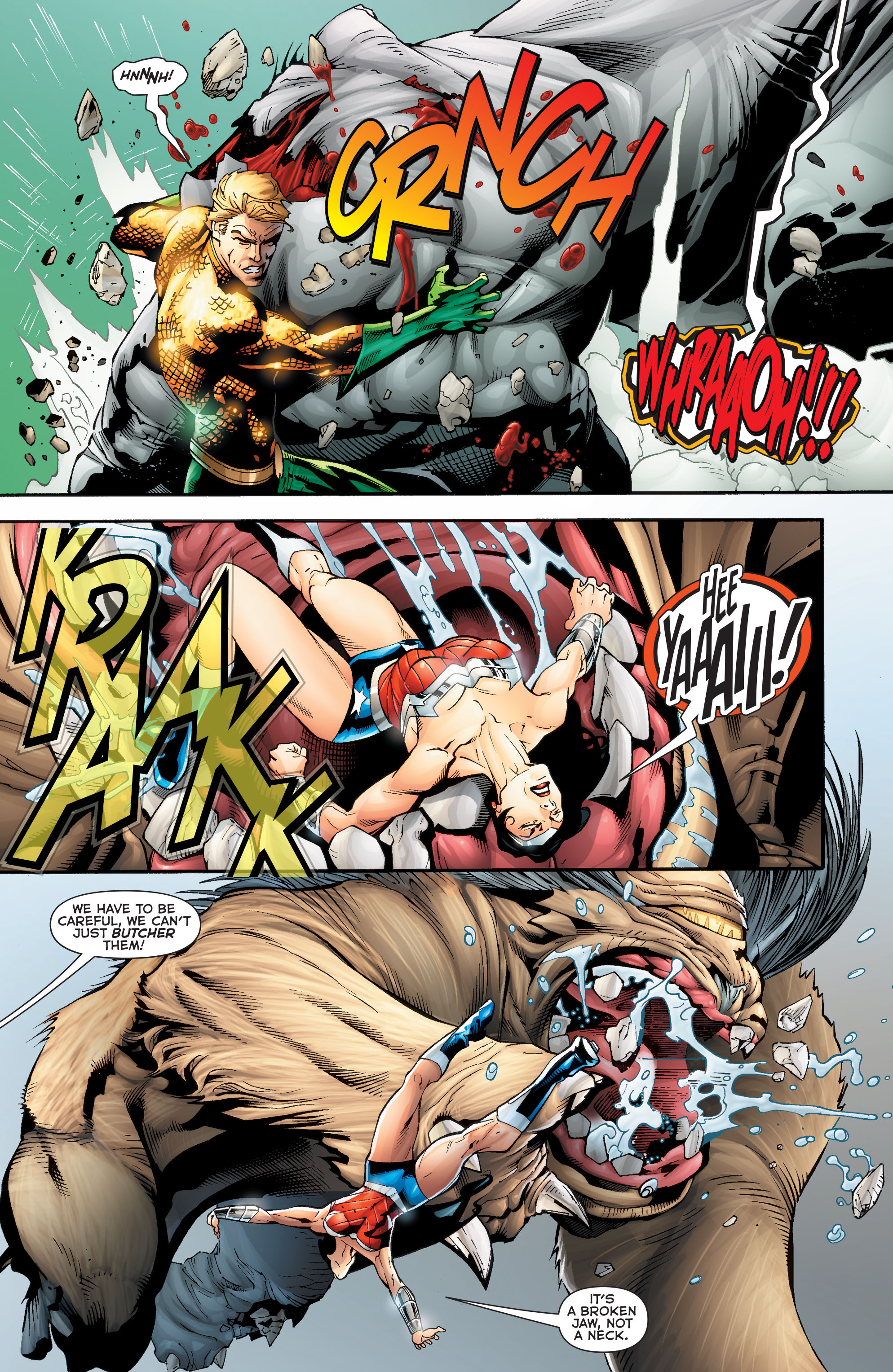 Read online Aquaman (2011) comic -  Issue #Aquaman (2011) _Annual 2 - 14