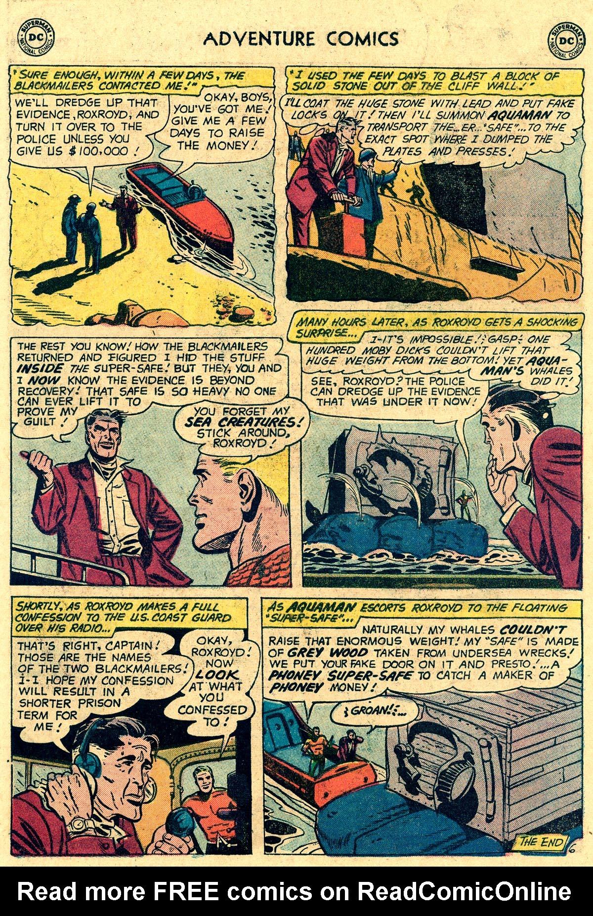 Read online Adventure Comics (1938) comic -  Issue #265 - 22
