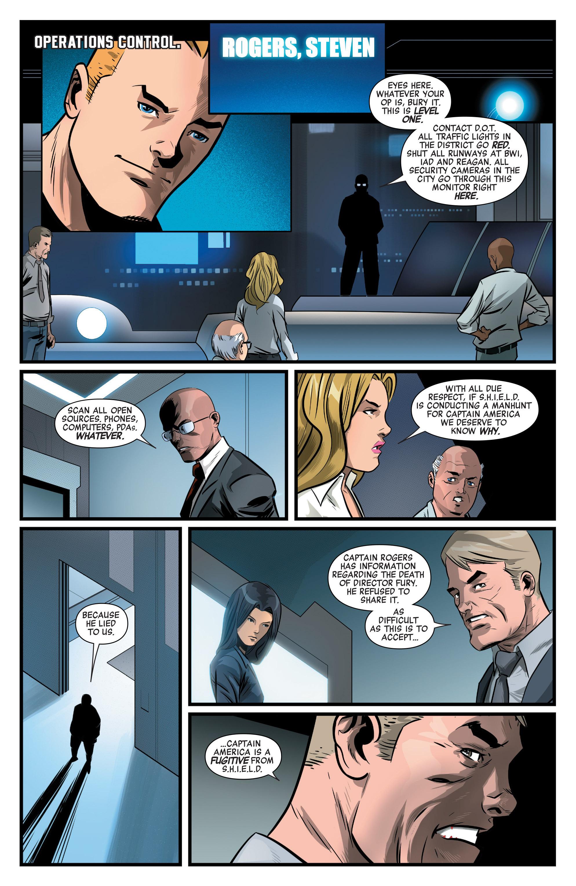 Read online Captain America: Civil War Prelude comic -  Issue #3 - 19