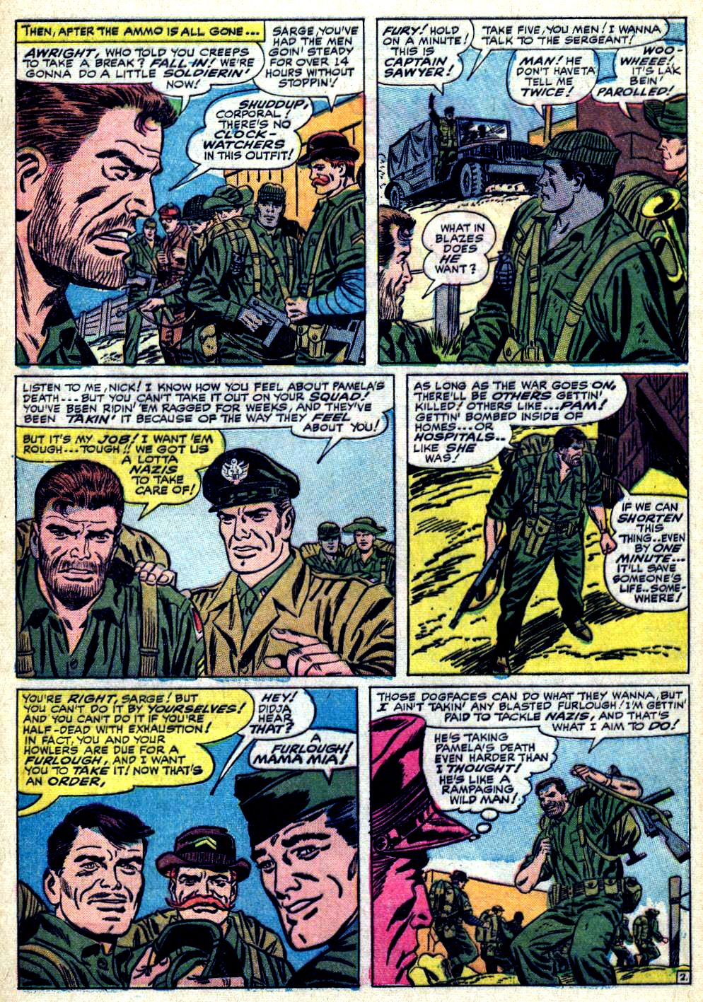 Read online Sgt. Fury comic -  Issue #19 - 4