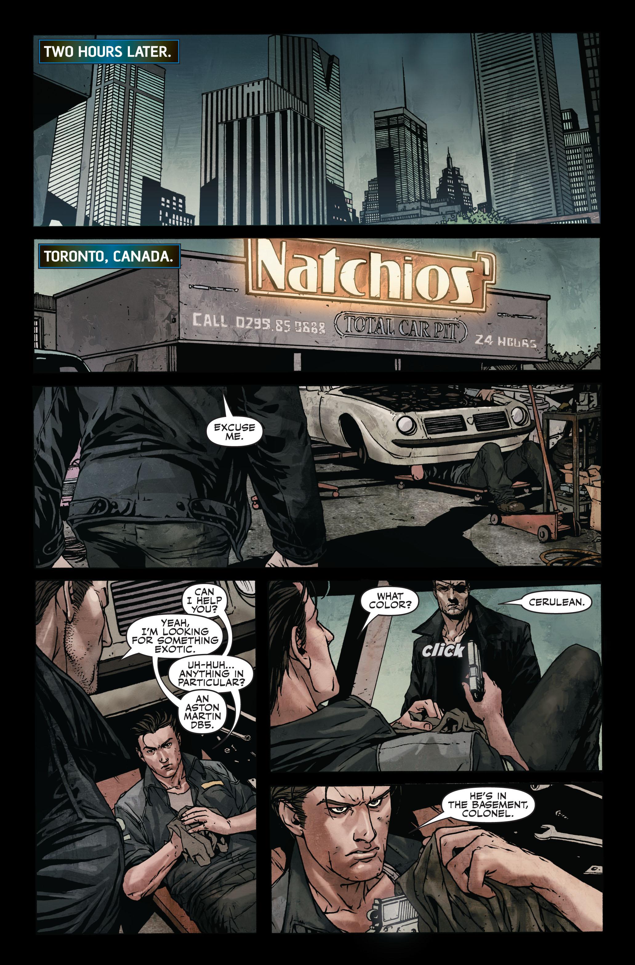 Read online Secret Warriors comic -  Issue #7 - 21