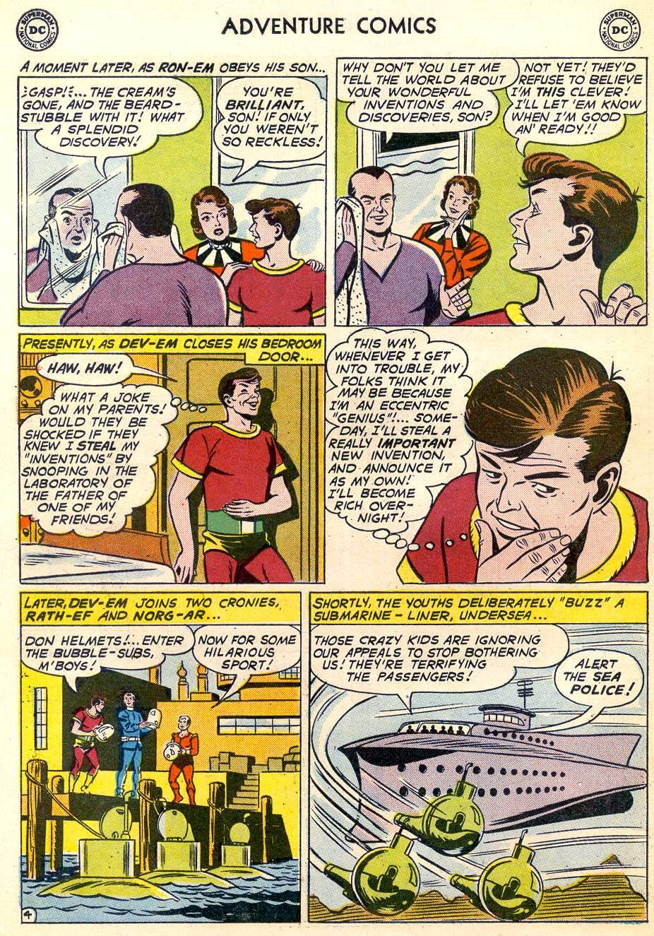 Read online Adventure Comics (1938) comic -  Issue #287 - 6