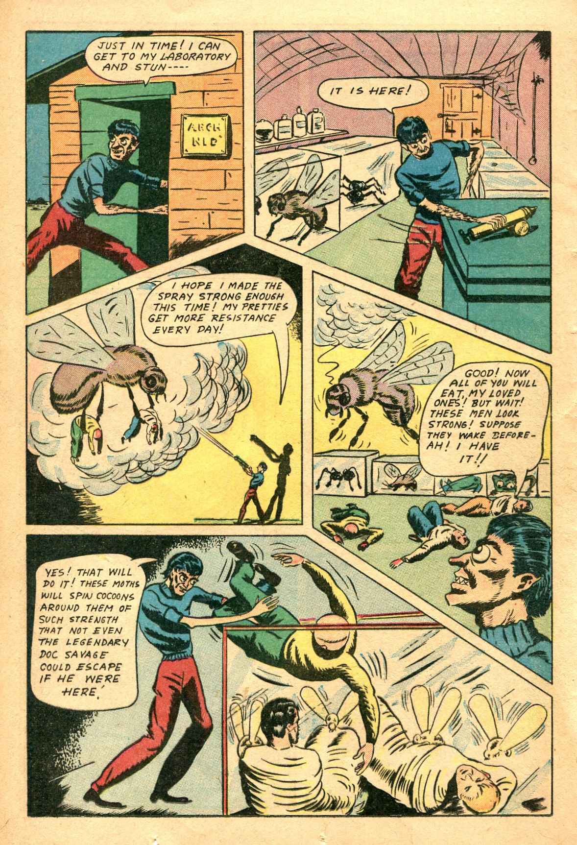 Read online Shadow Comics comic -  Issue #47 - 21