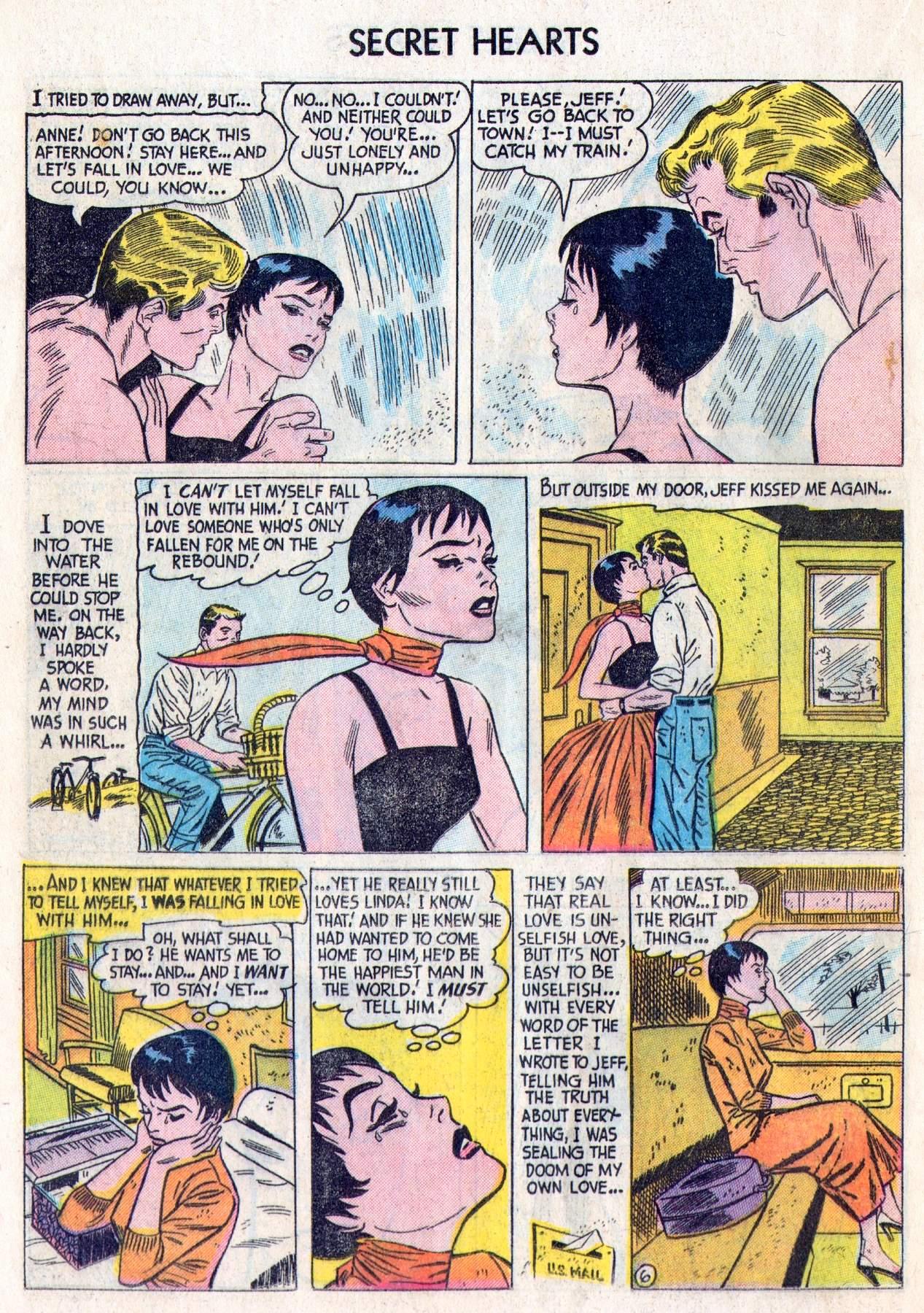 Read online Secret Hearts comic -  Issue #28 - 24