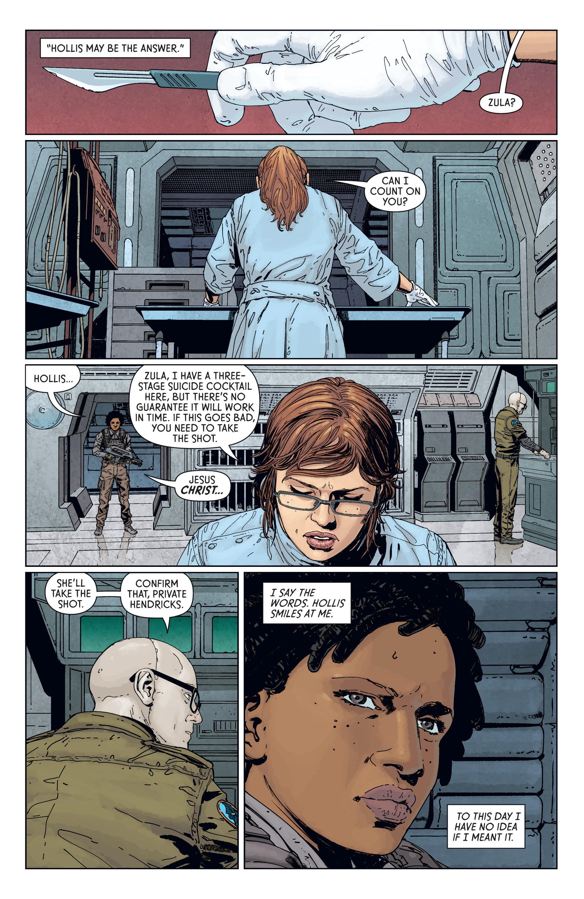Read online Aliens: Defiance comic -  Issue #7 - 10