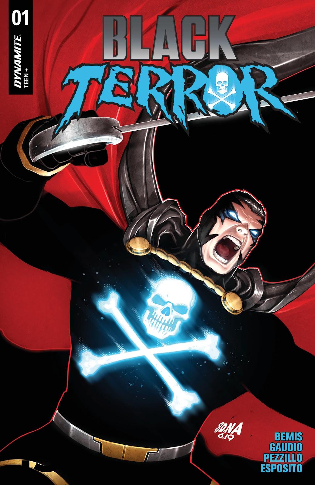 Read online Black Terror (2019) comic -  Issue # Full - 3