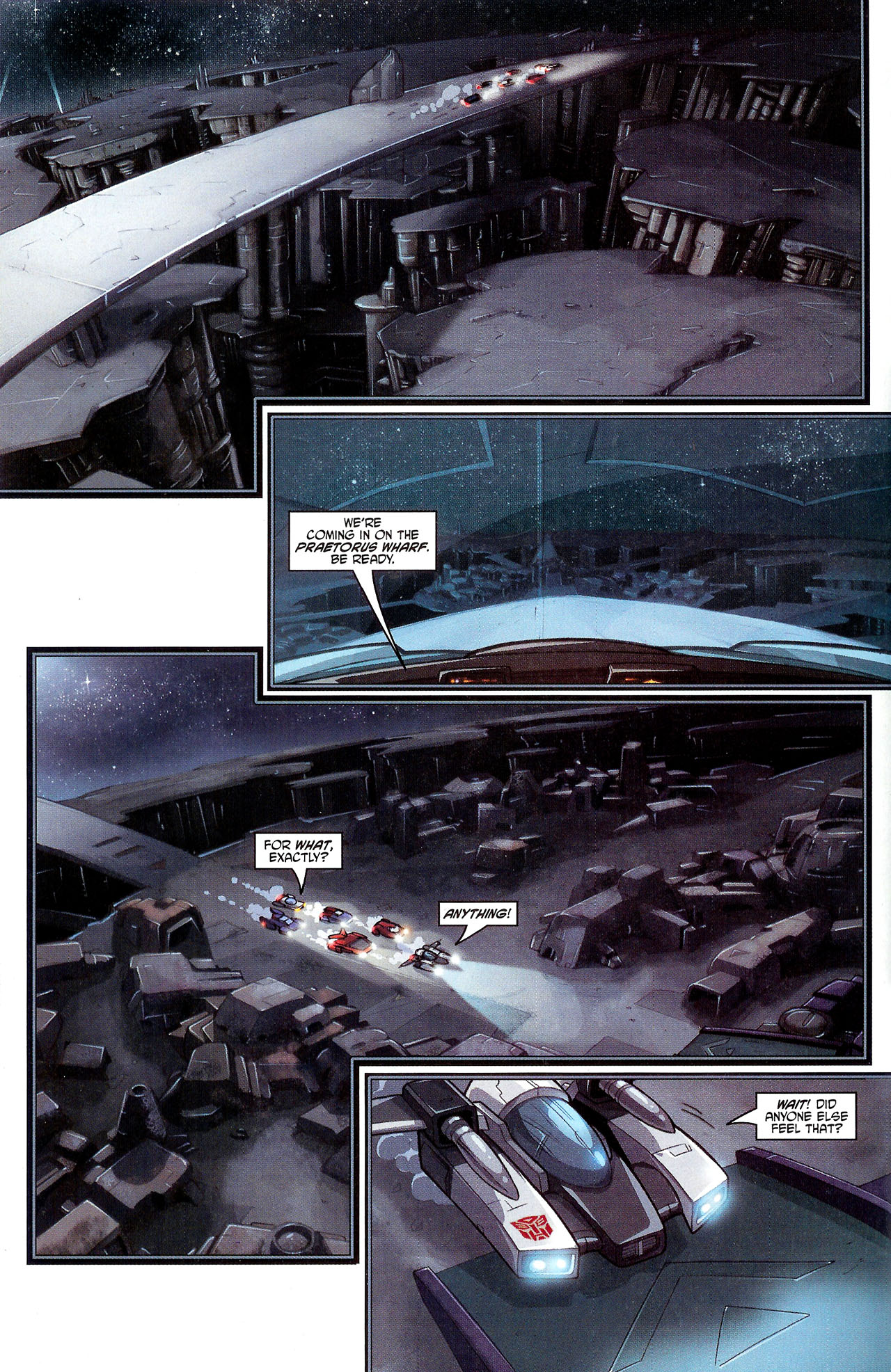 """Read online Transformers War Within: """"The Dark Ages"""" comic -  Issue #3 - 9"""