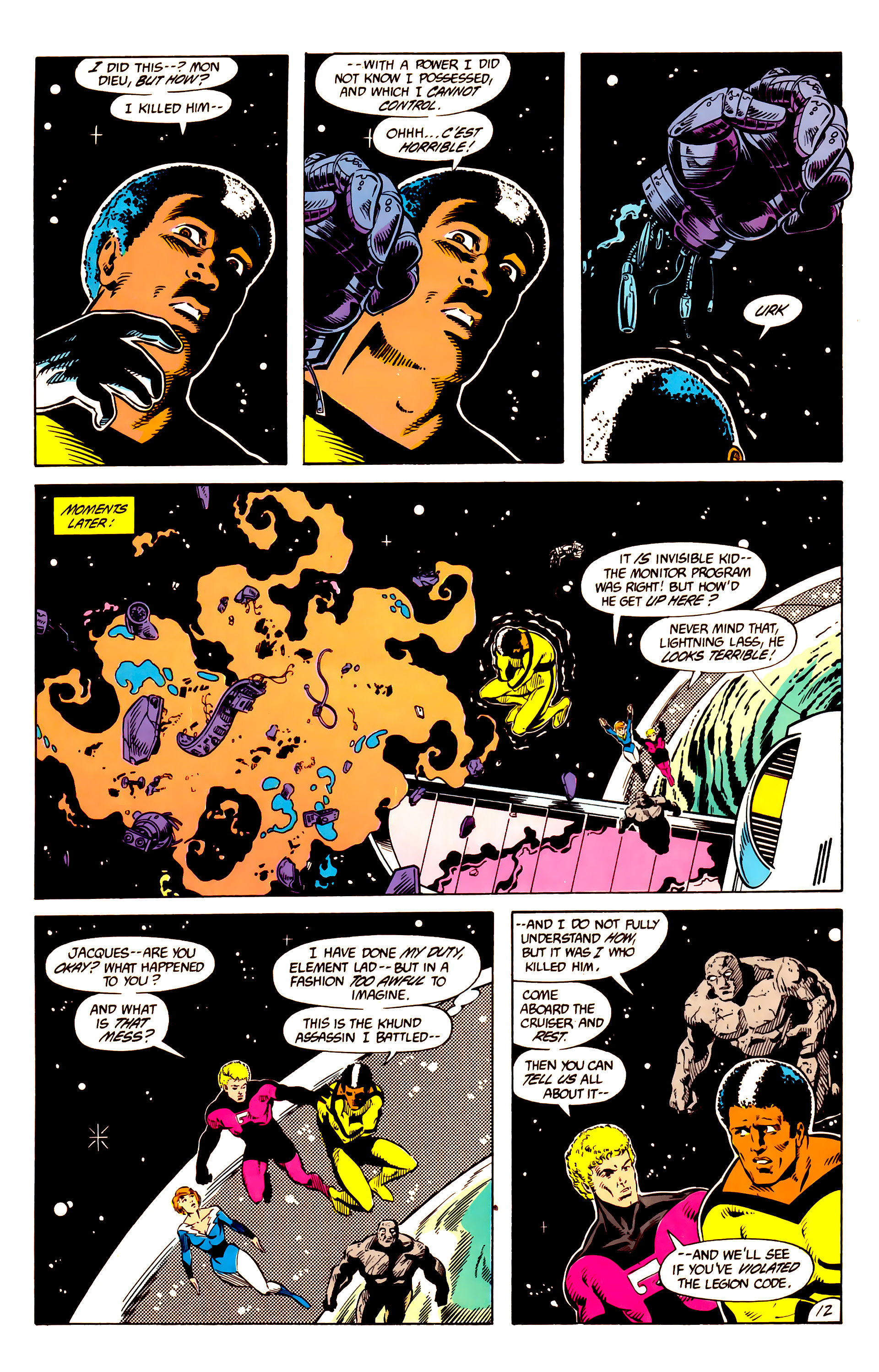 Legion of Super-Heroes (1984) 10 Page 13