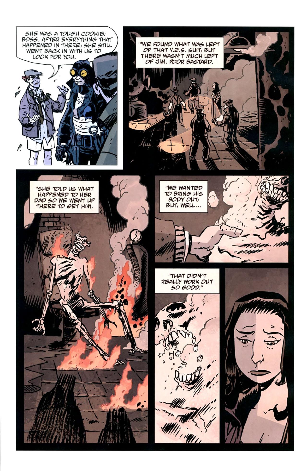 Read online Lobster Johnson: The Iron Prometheus comic -  Issue #5 - 24