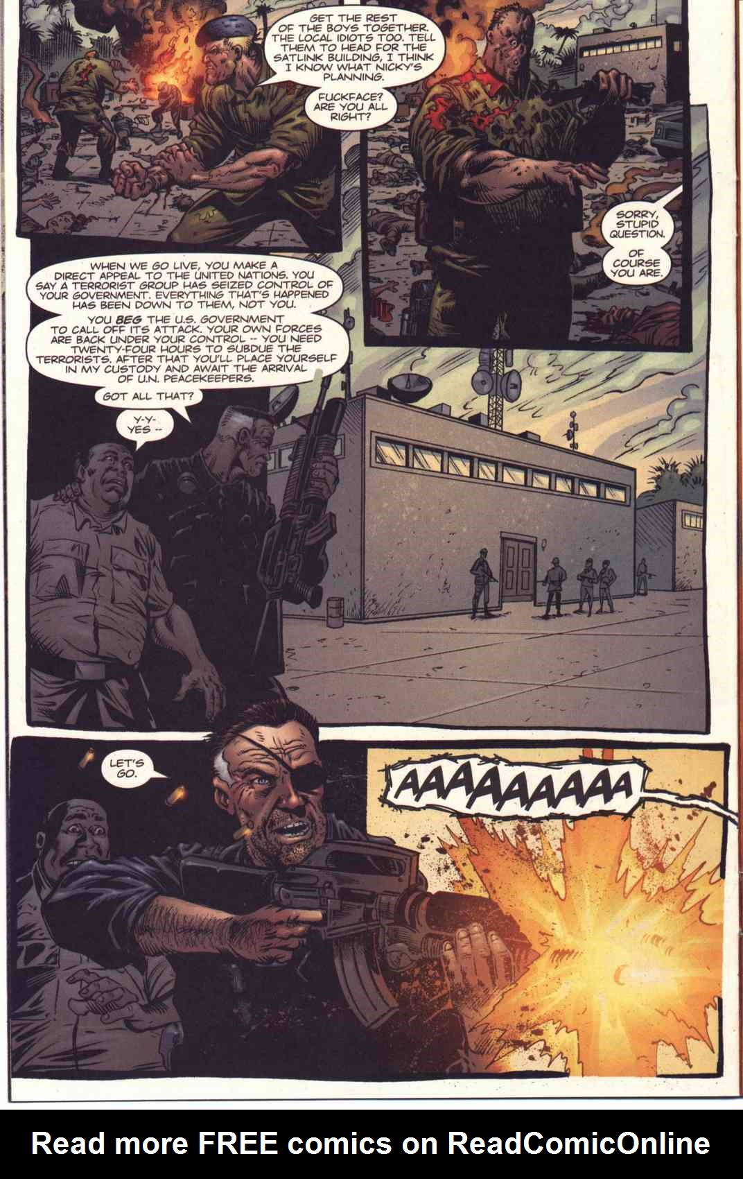 Read online Fury comic -  Issue #5 - 11