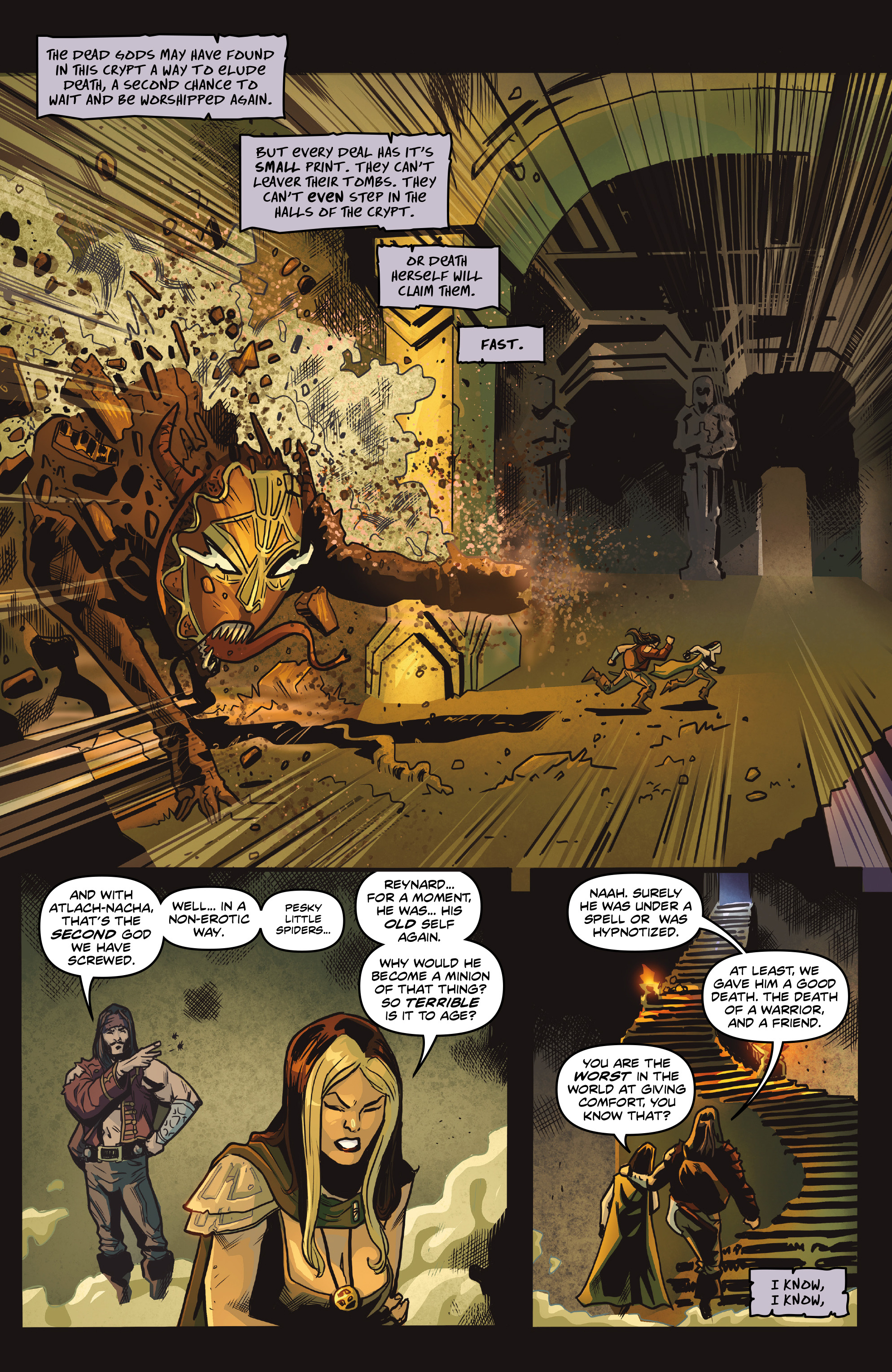 Read online Rogues!: The Burning Heart comic -  Issue #5 - 20