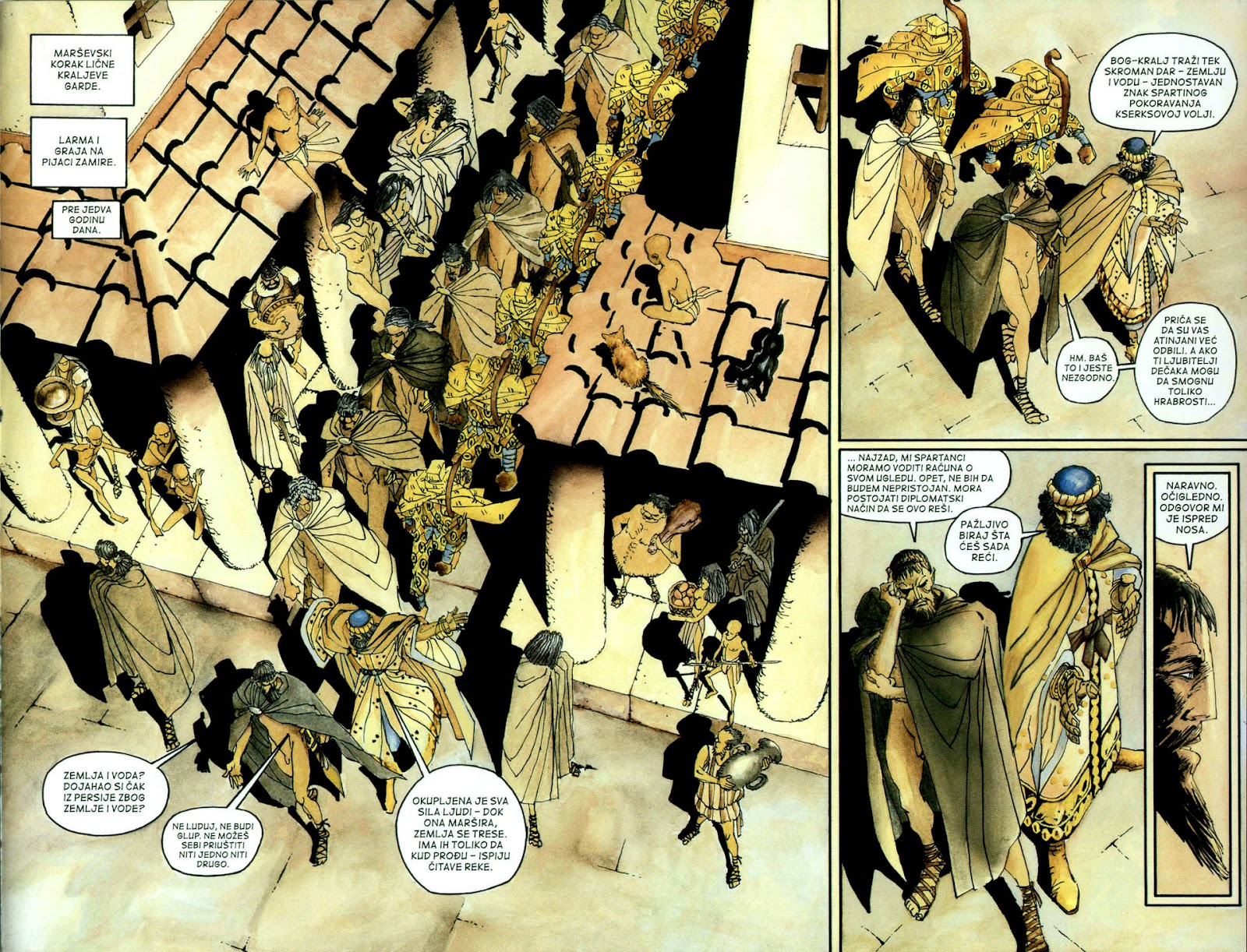 Read online 300 (2007) comic -  Issue # TPB - 18