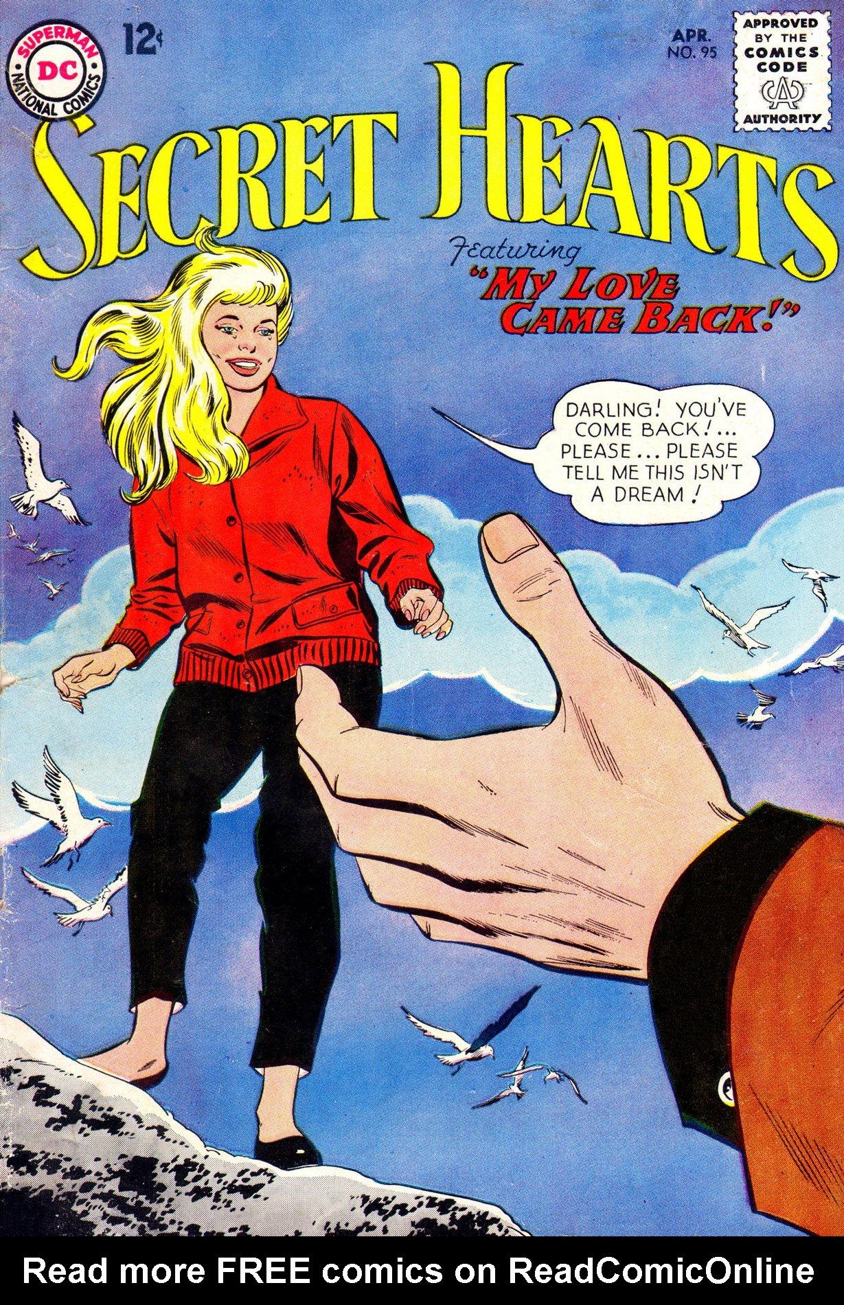 Read online Secret Hearts comic -  Issue #95 - 1