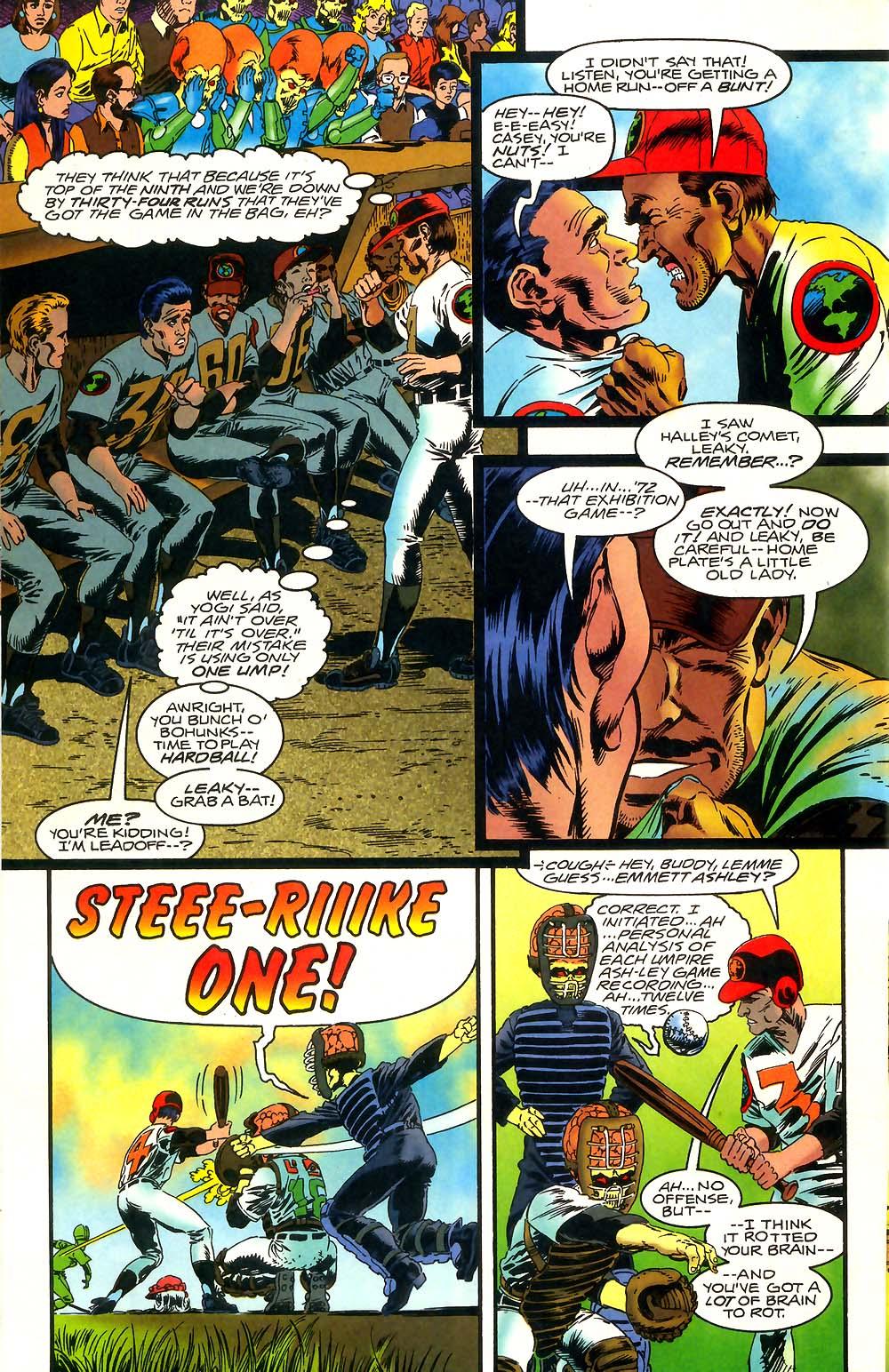 Read online Mars Attacks Baseball Special comic -  Issue # Full - 10