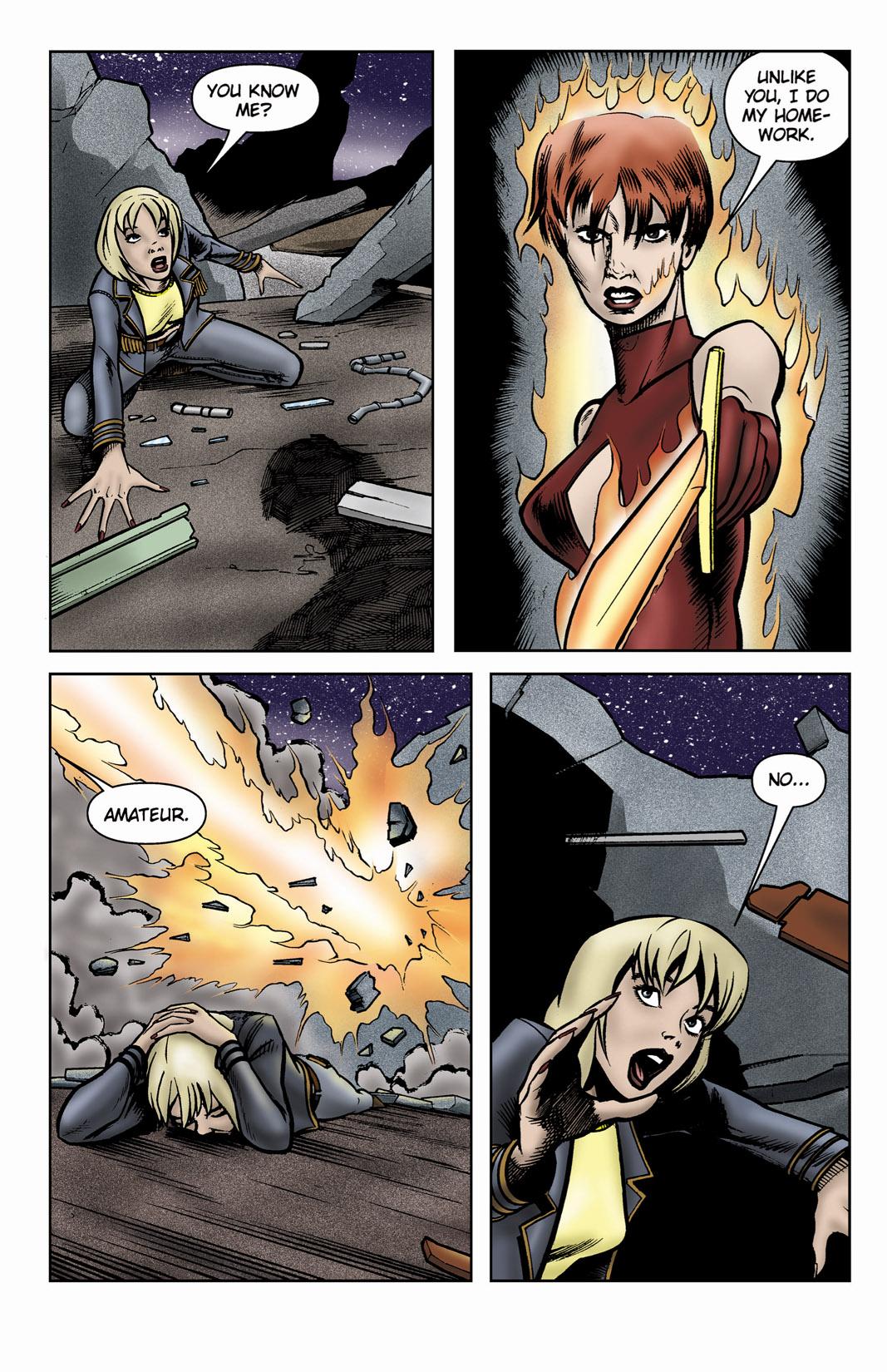 Read online SideChicks comic -  Issue #3 - 32
