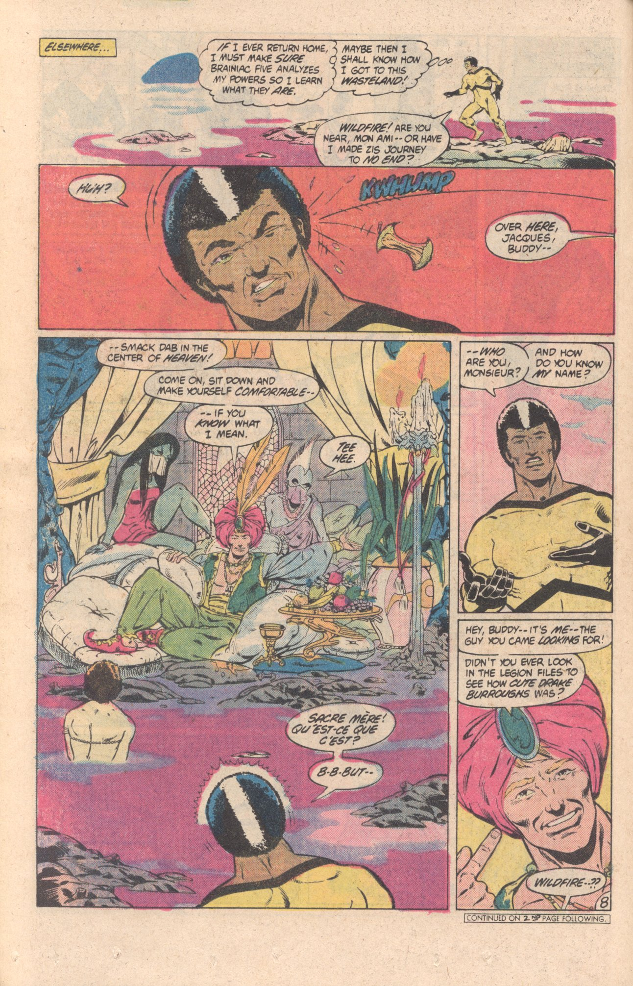 Legion of Super-Heroes (1980) 299 Page 8