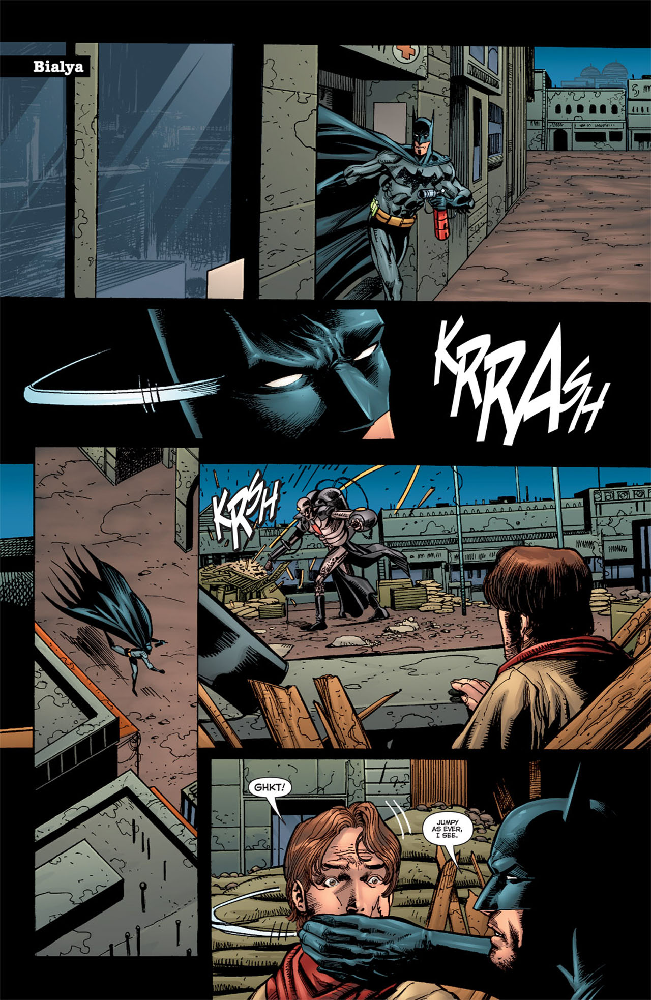 Read online 52 Aftermath: The Four Horsemen comic -  Issue #5 - 11