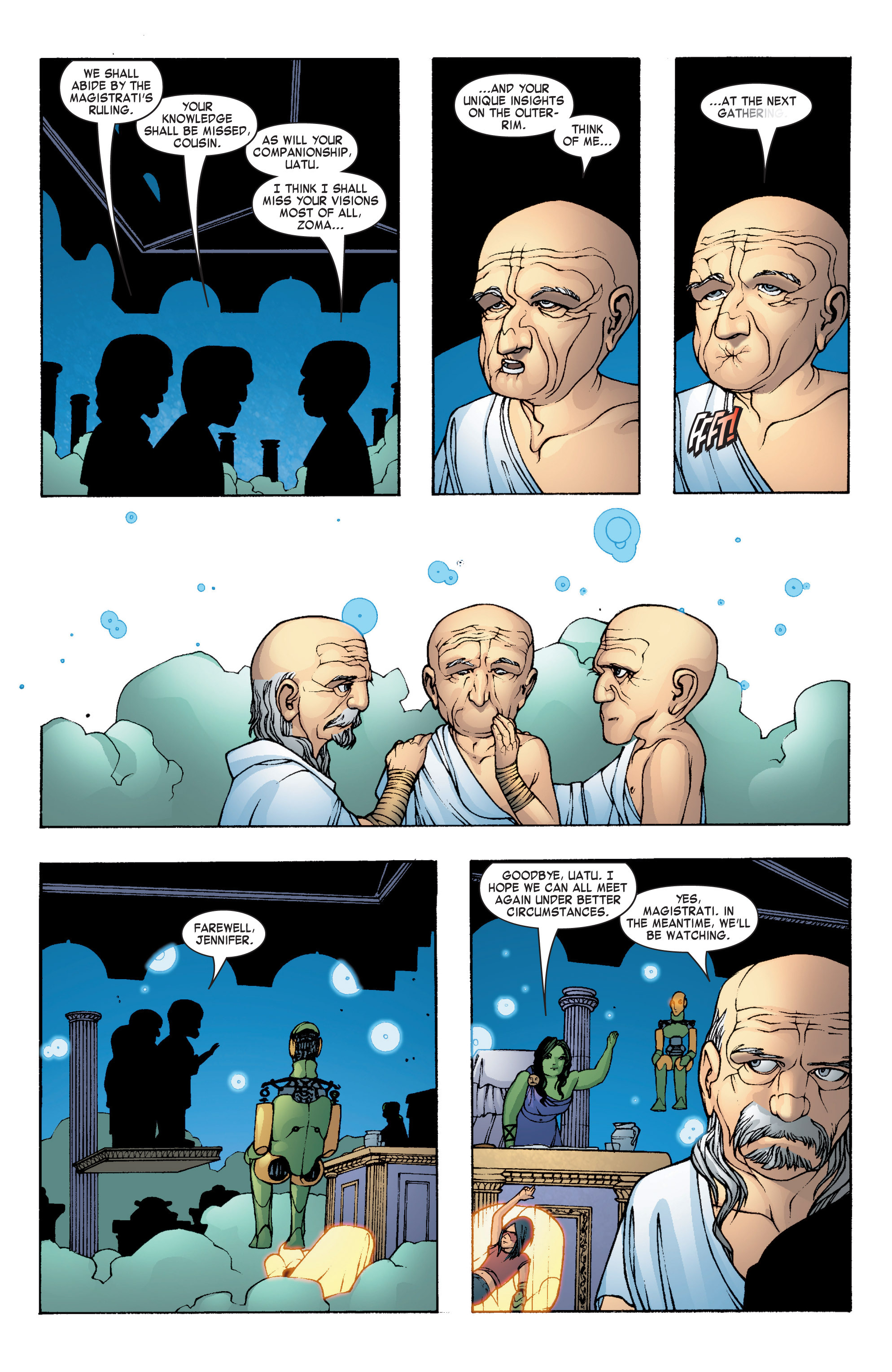 Read online She-Hulk (2004) comic -  Issue #7 - 21