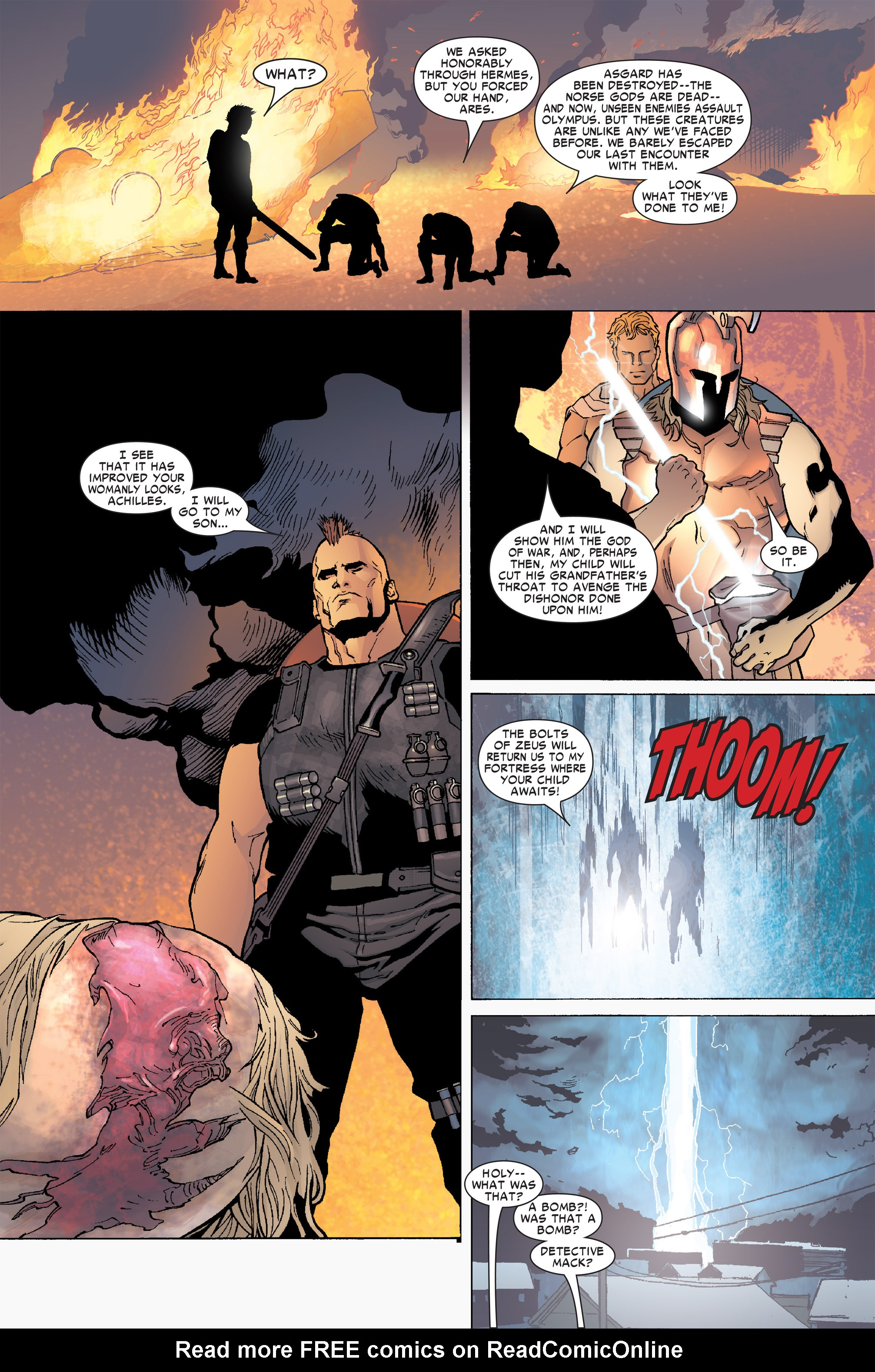 Read online Ares comic -  Issue #2 - 10