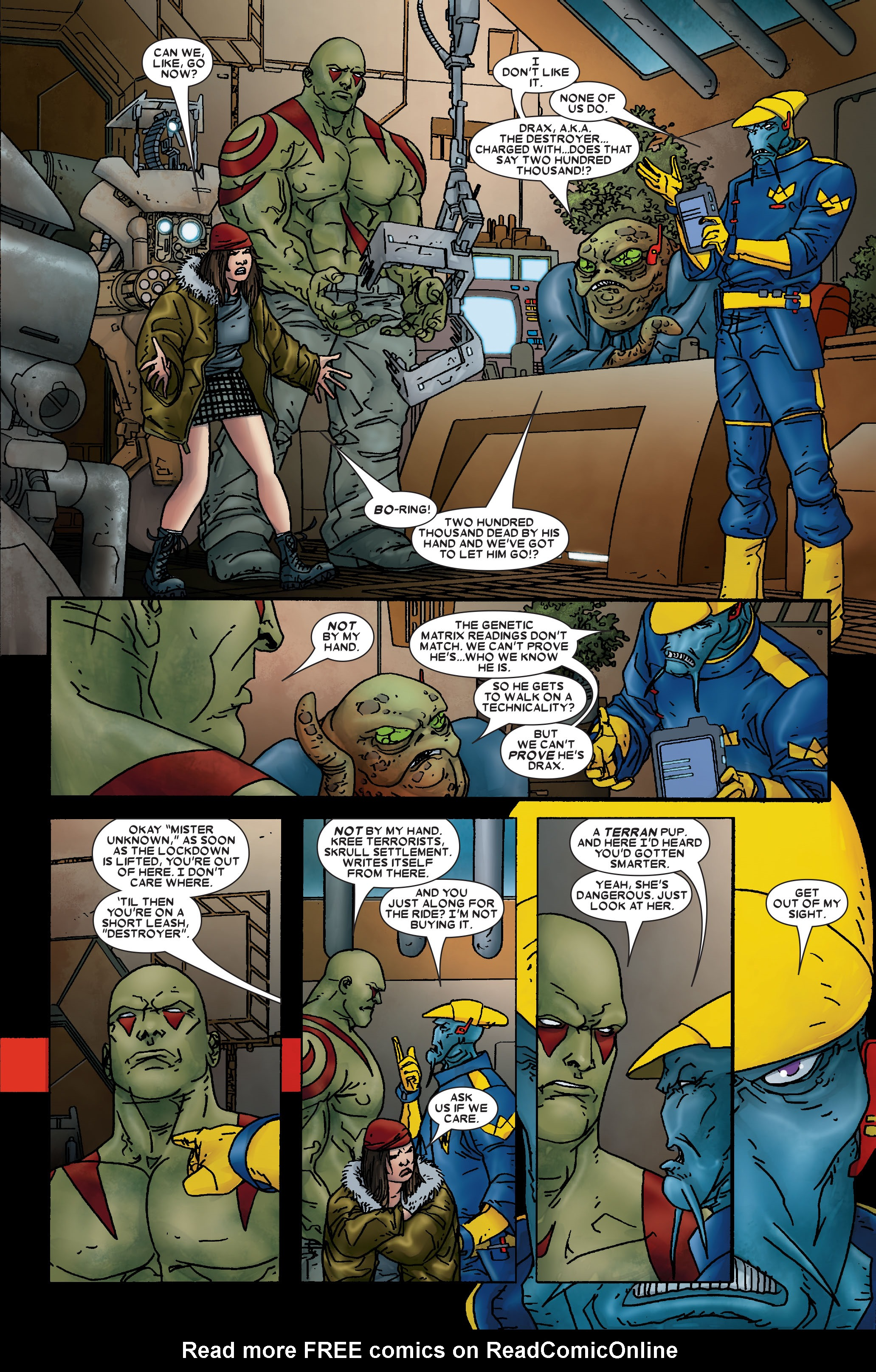 Read online Annihilation: Prologue comic -  Issue #Annihilation: Prologue Full - 12