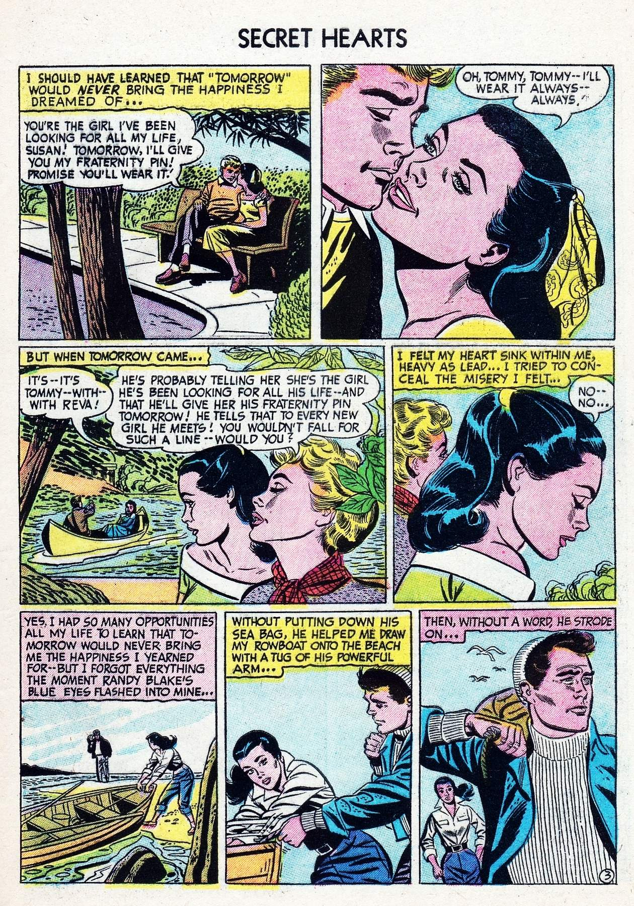 Read online Secret Hearts comic -  Issue #29 - 29